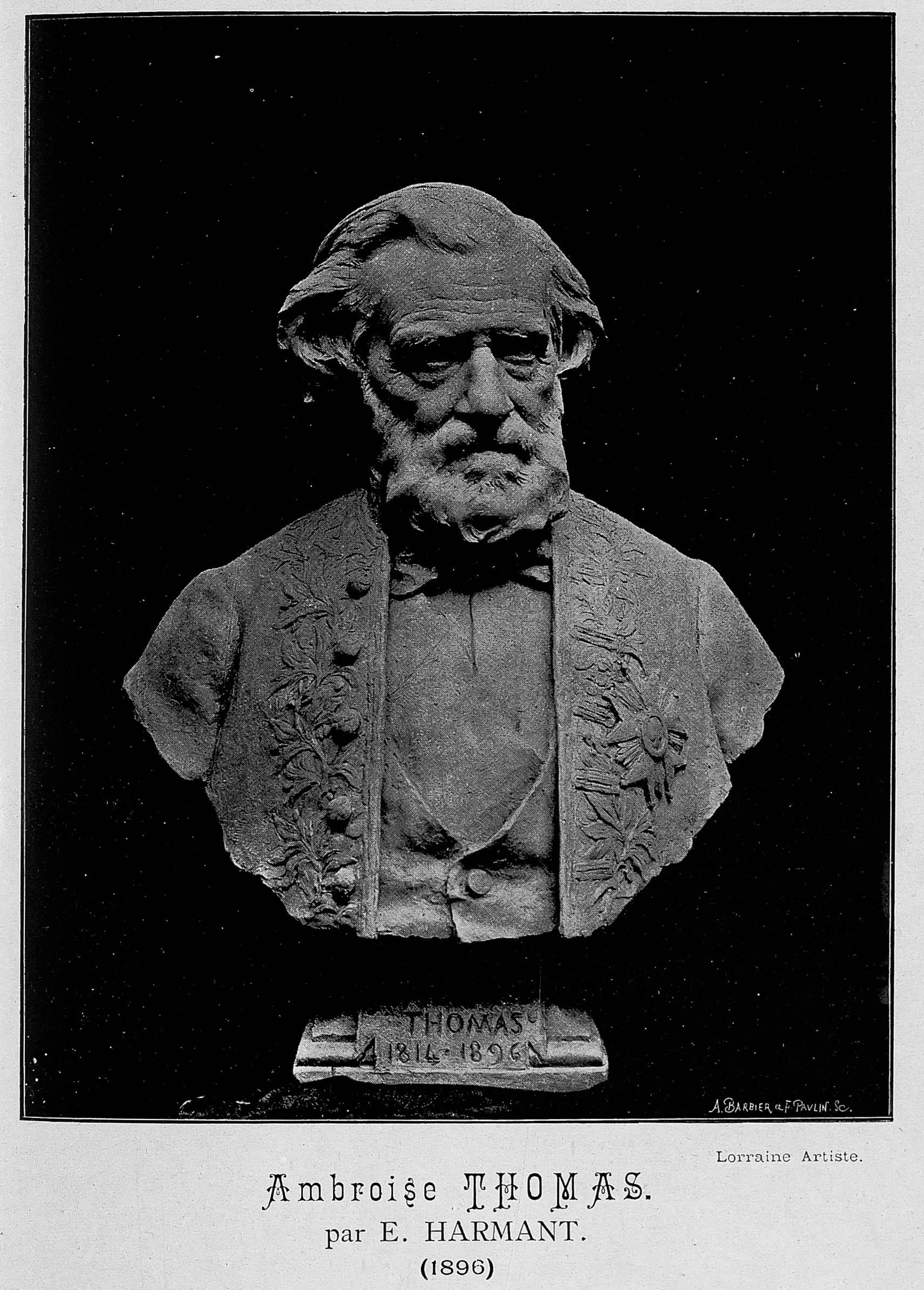 Contenu du Ambroise Thomas