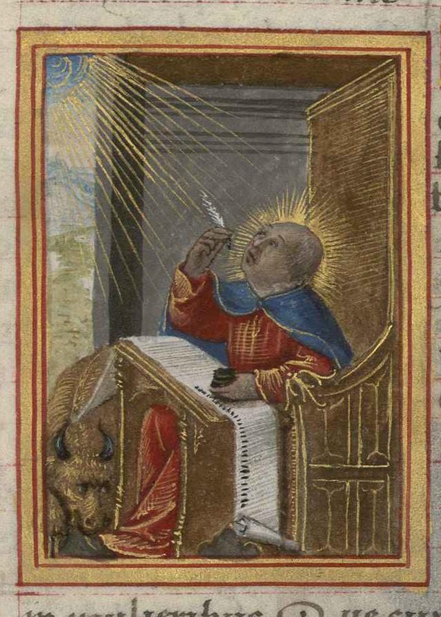 Contenu du Saint Luc