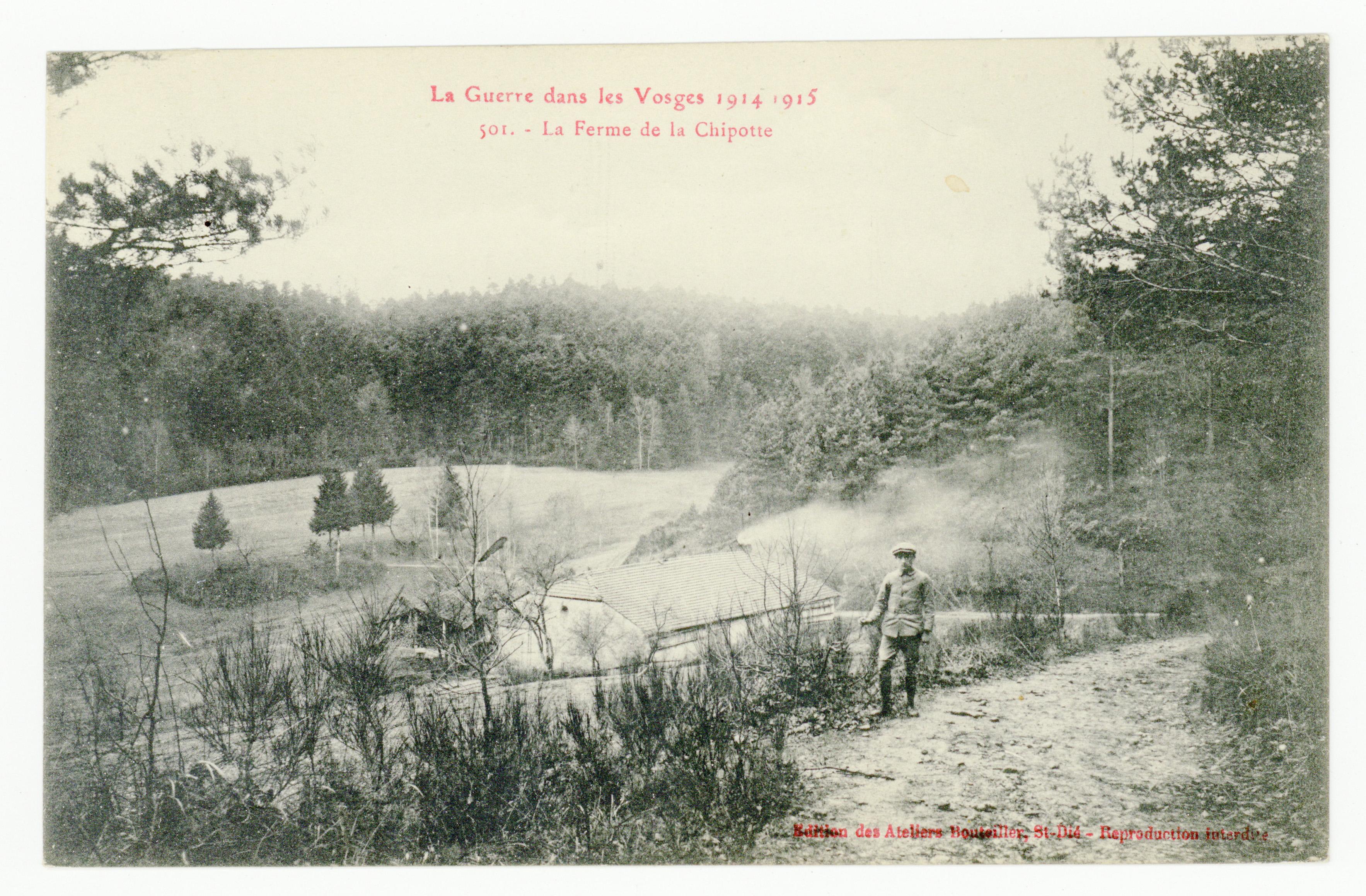 Contenu du La Ferme de la Chipotte, la Guerre dans les Vosges. 1914-1915