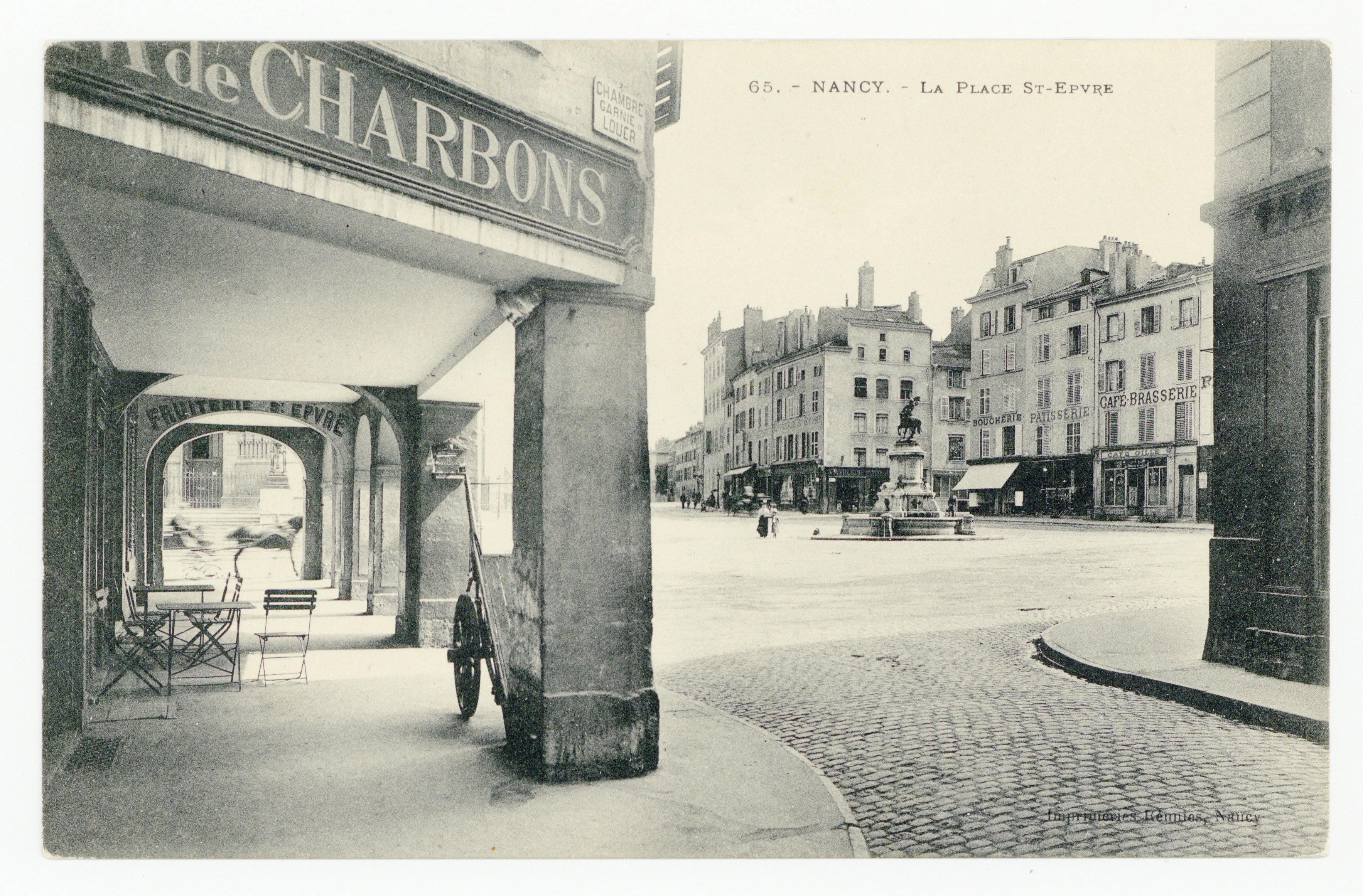 Contenu du Nancy : la place St-Epvre
