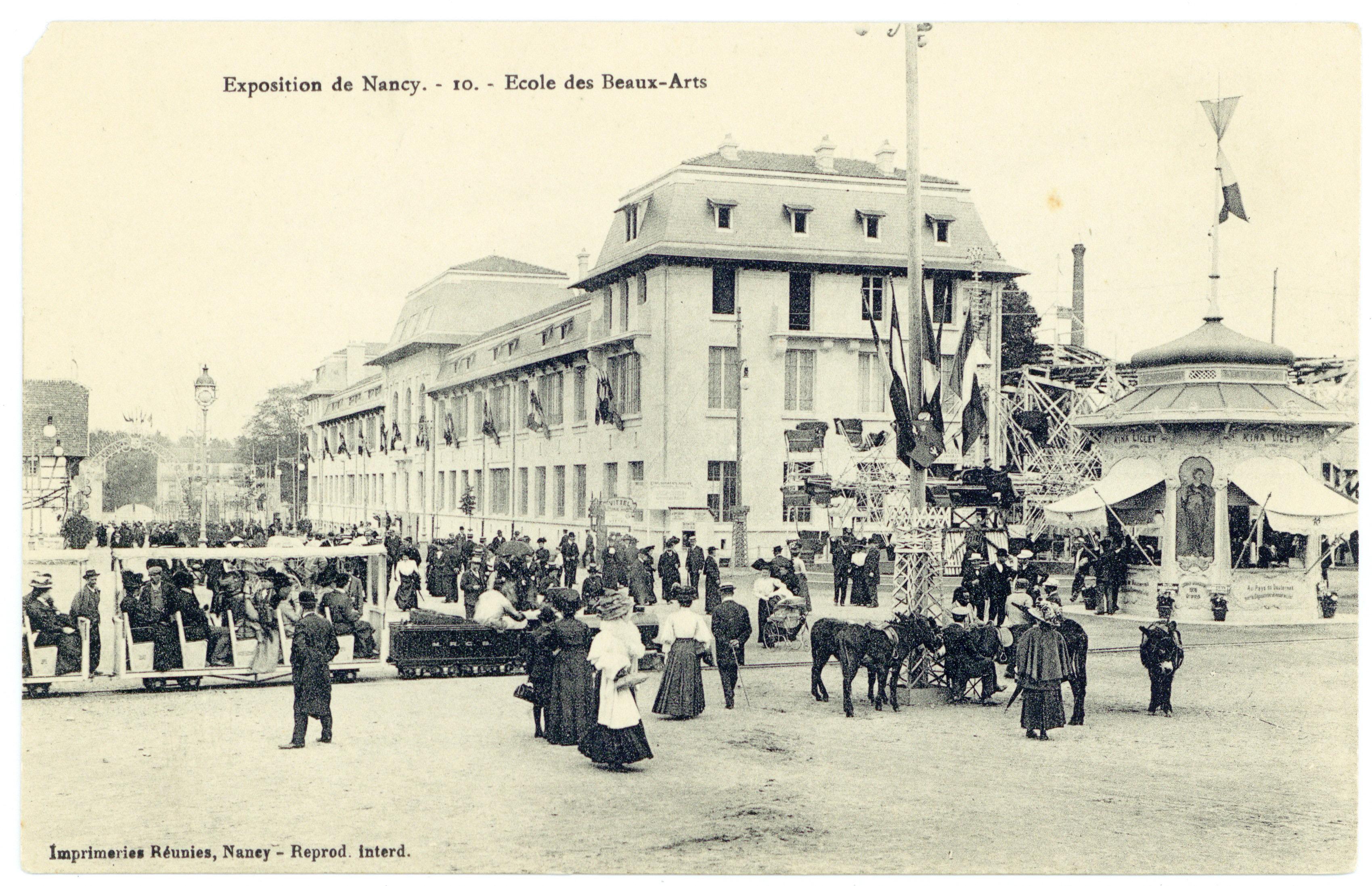 Contenu du École des Beaux-Arts : exposition de Nancy