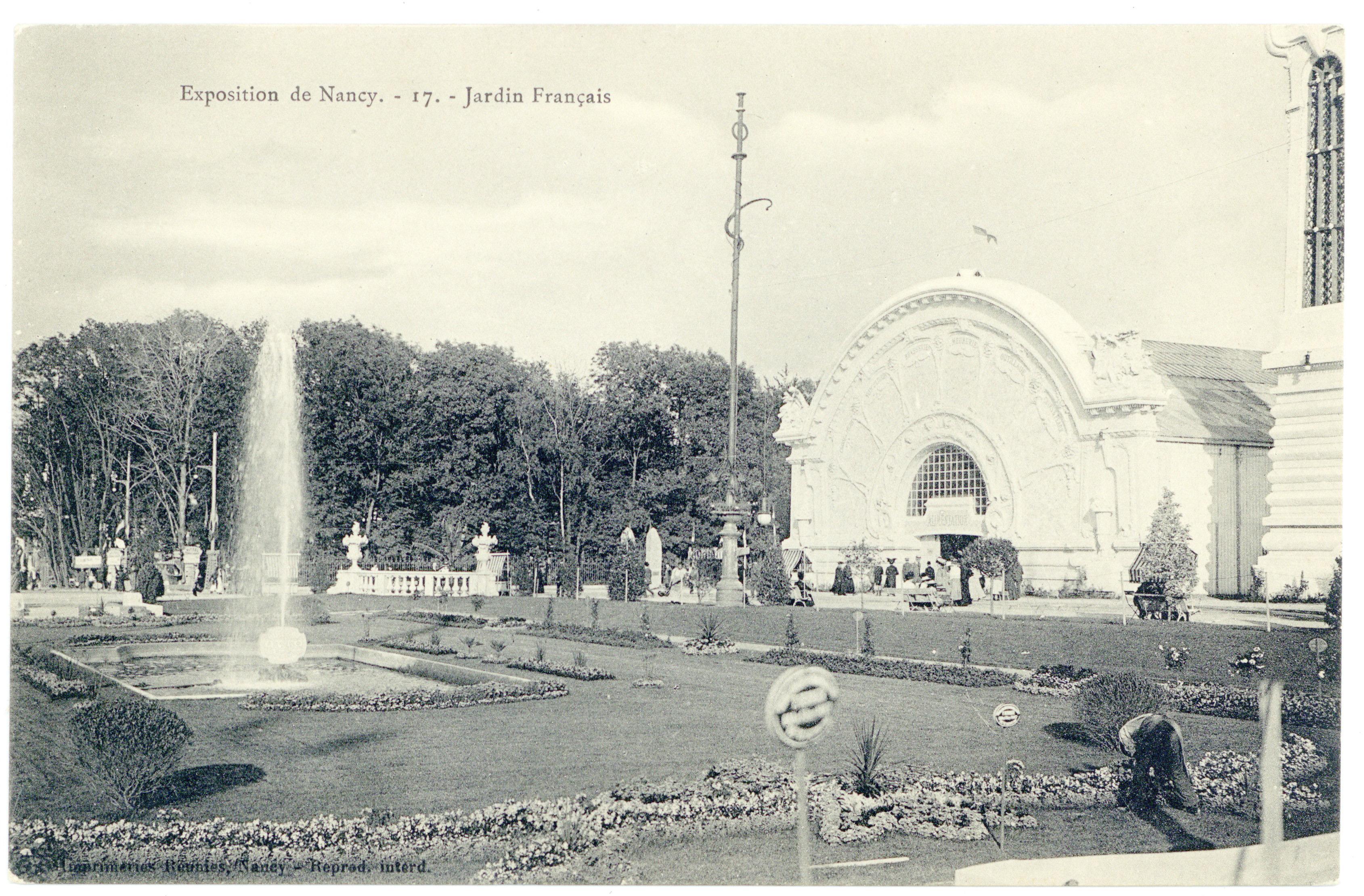 Contenu du Jardin français : exposition de Nancy