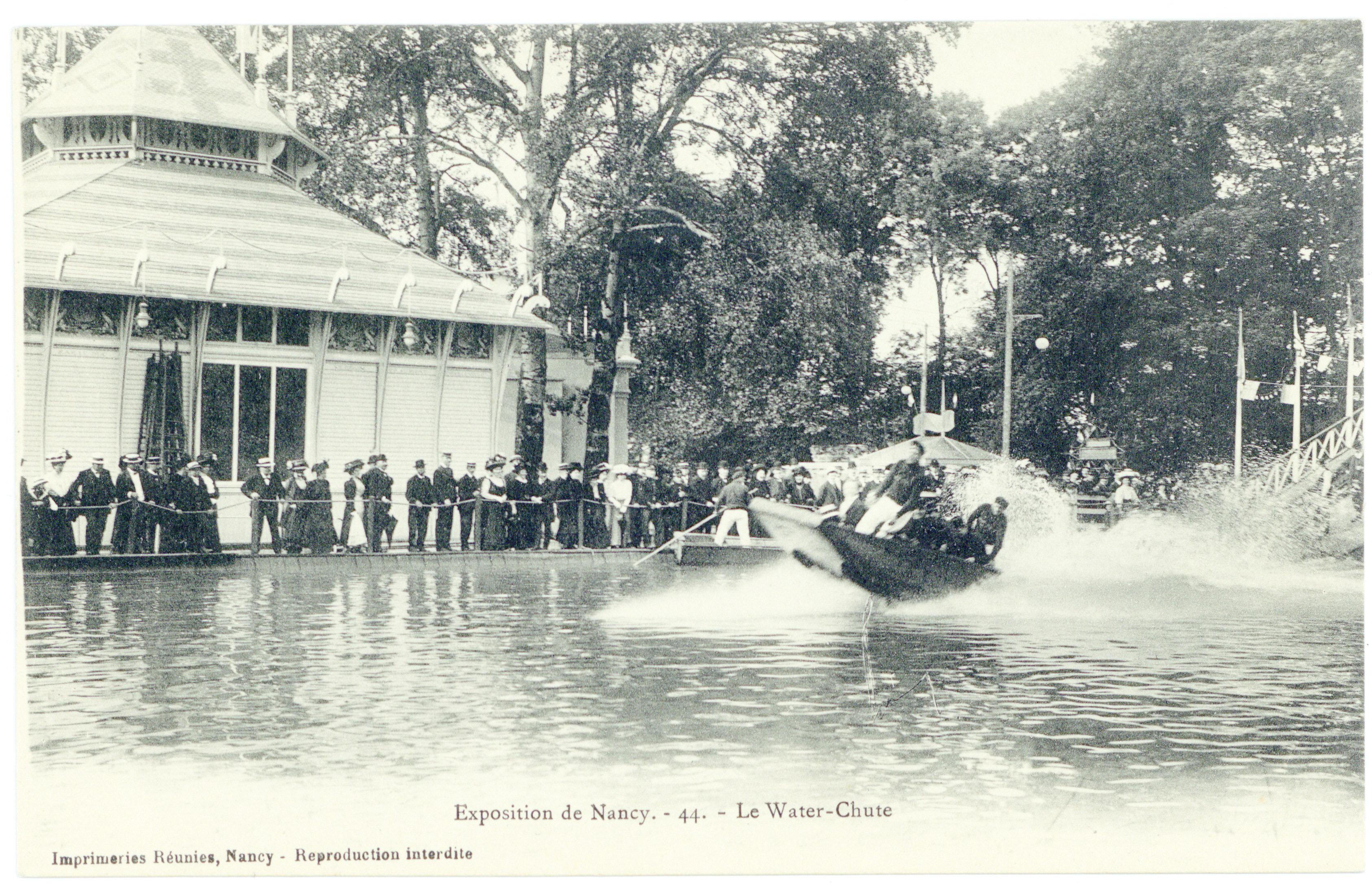 Contenu du Le Water-Chute : exposition de Nancy