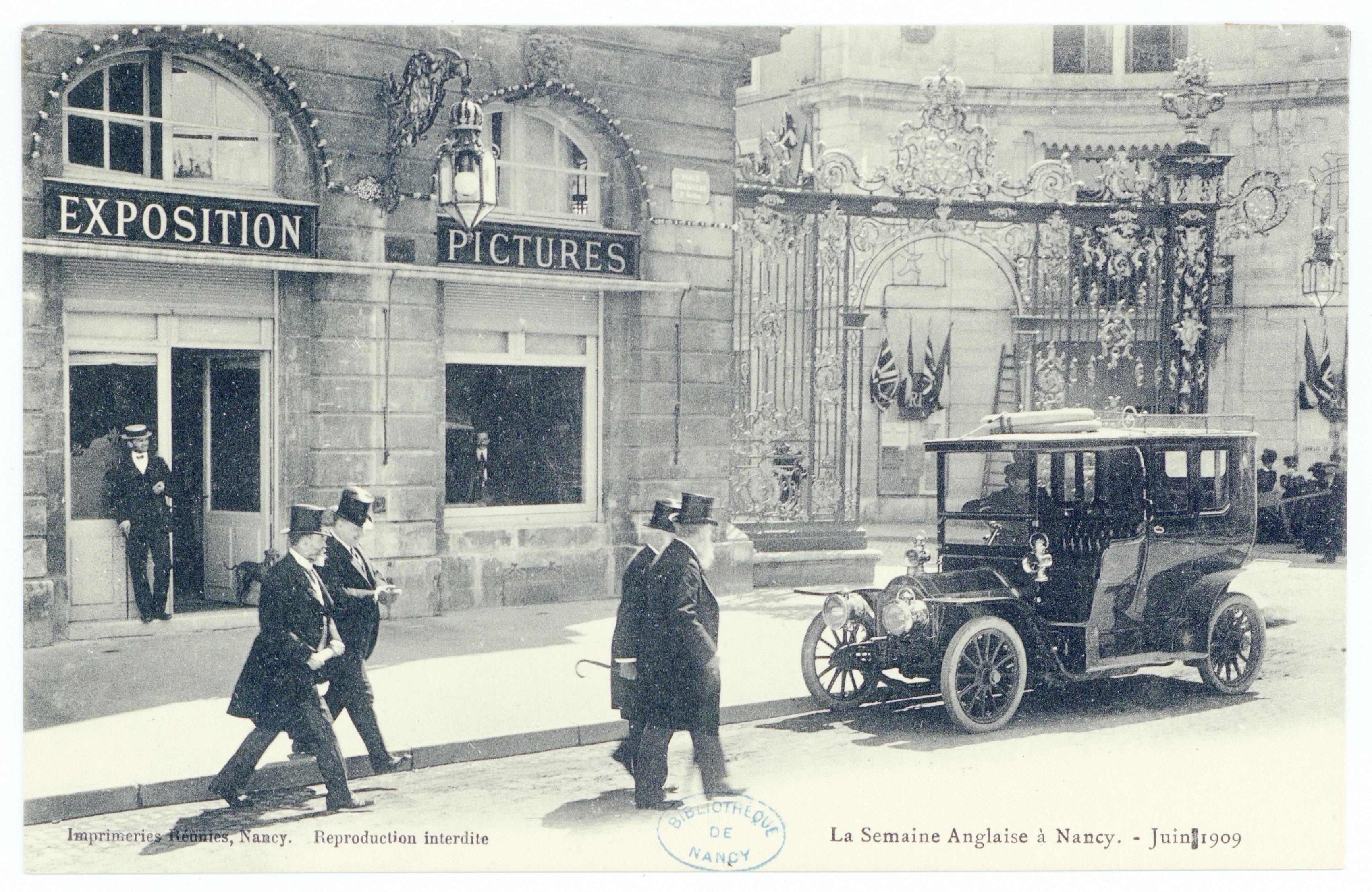 Contenu du La semaine anglaise à Nancy, juin 1909