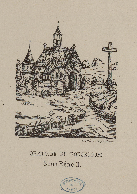 Contenu du Oratoire de Bonsecours sous René II