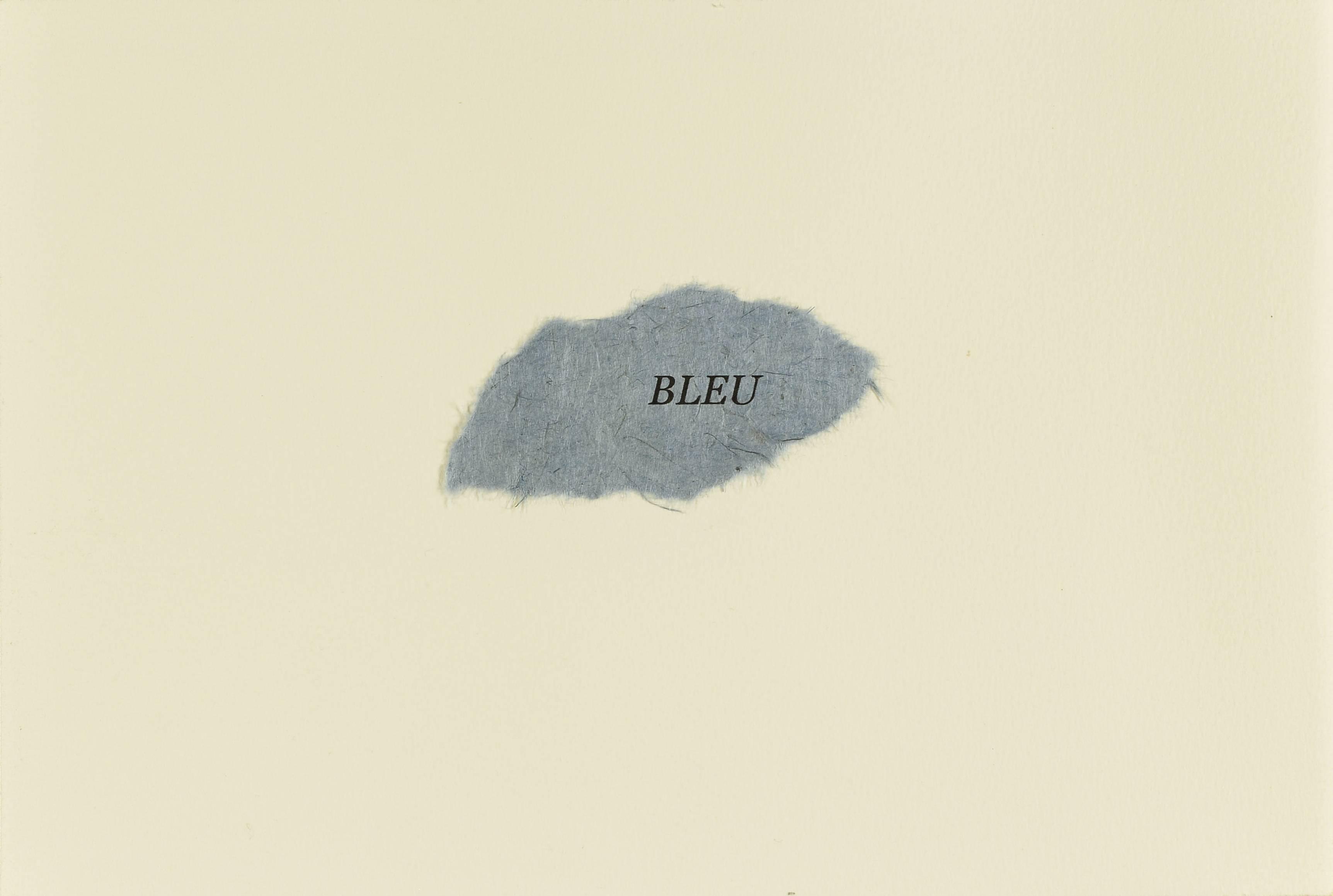 Contenu du Bleu