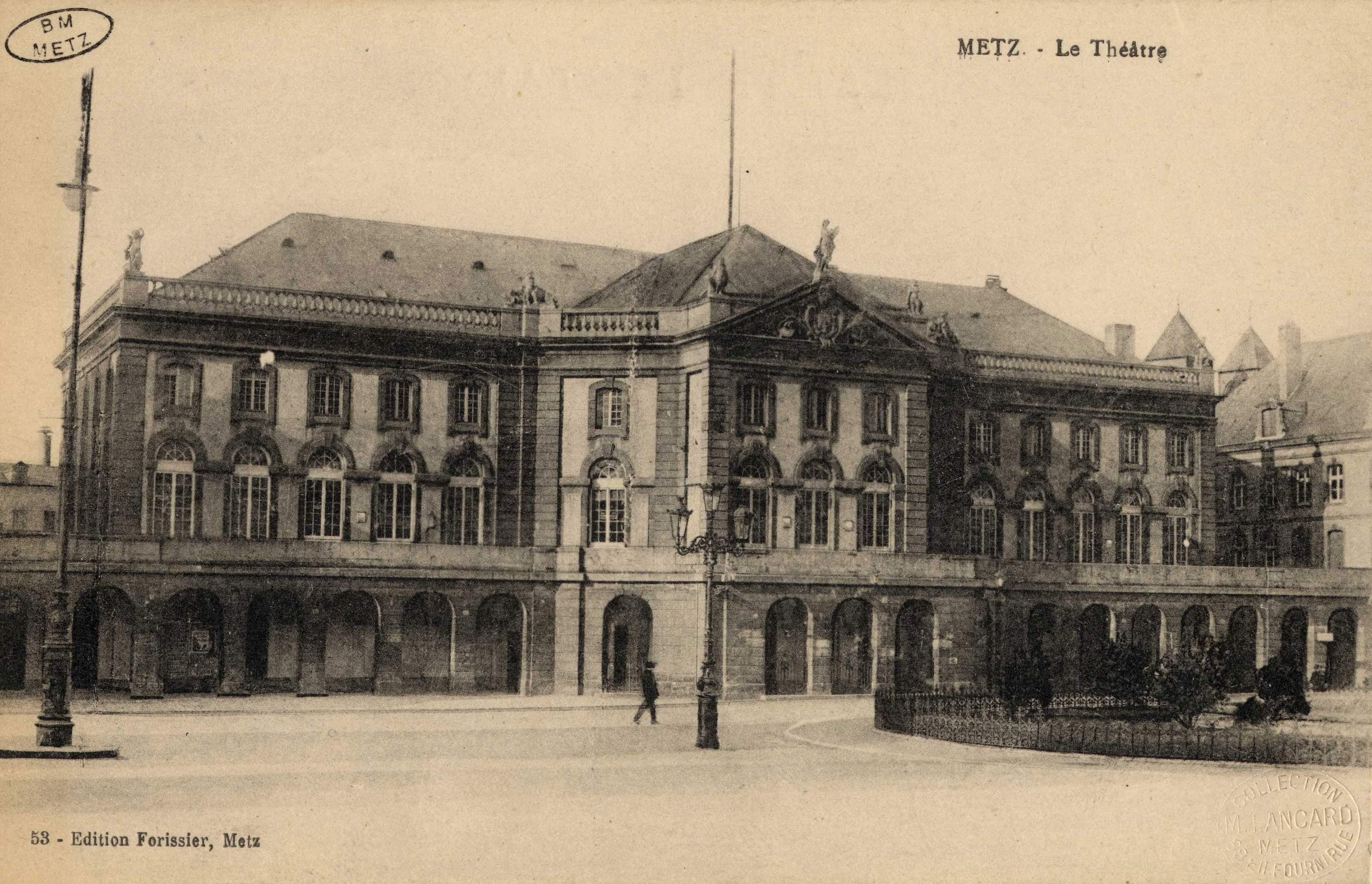 Contenu du Metz. Le Théâtre