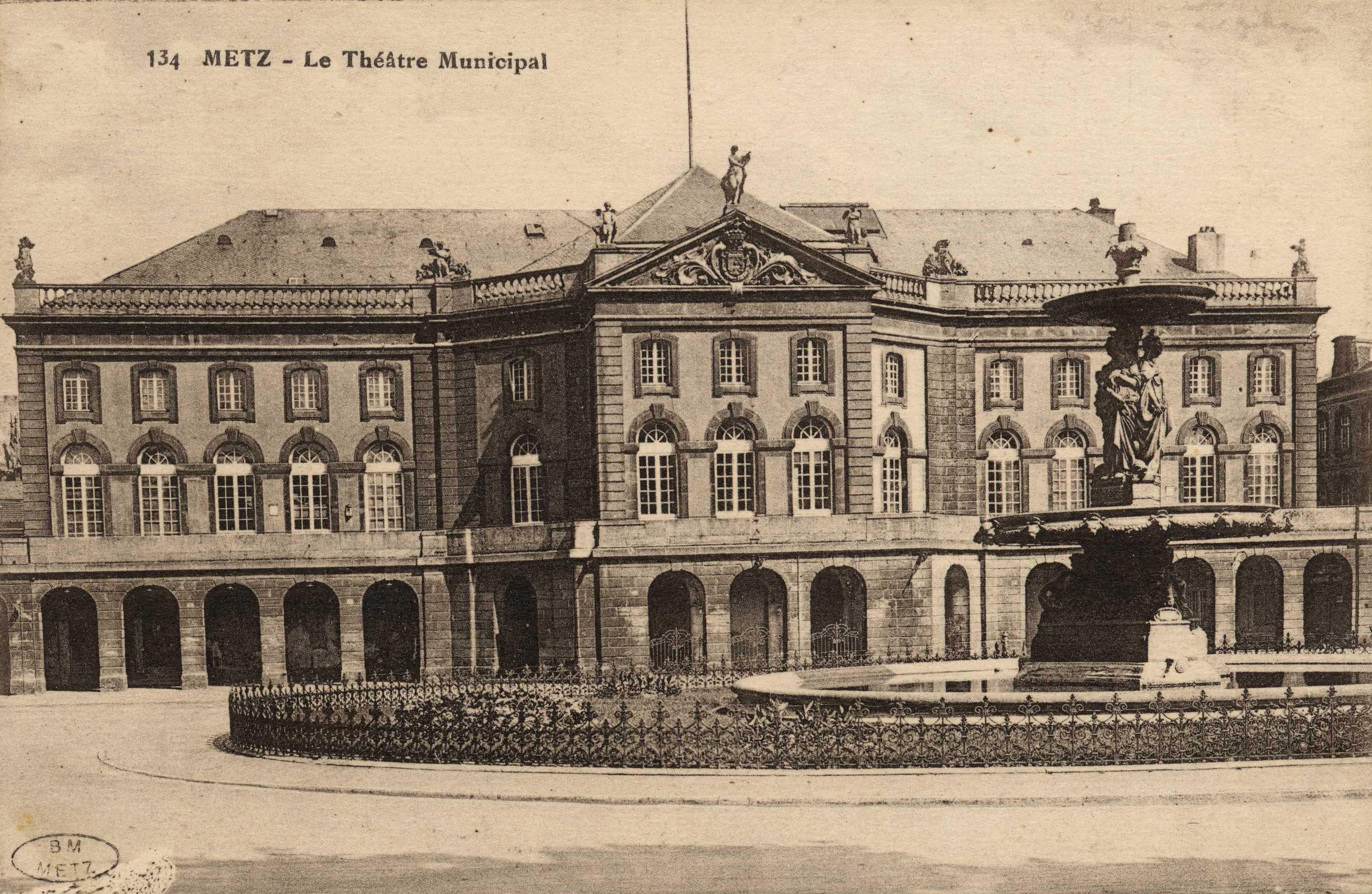 Contenu du Metz. Le Théâtre Municipal