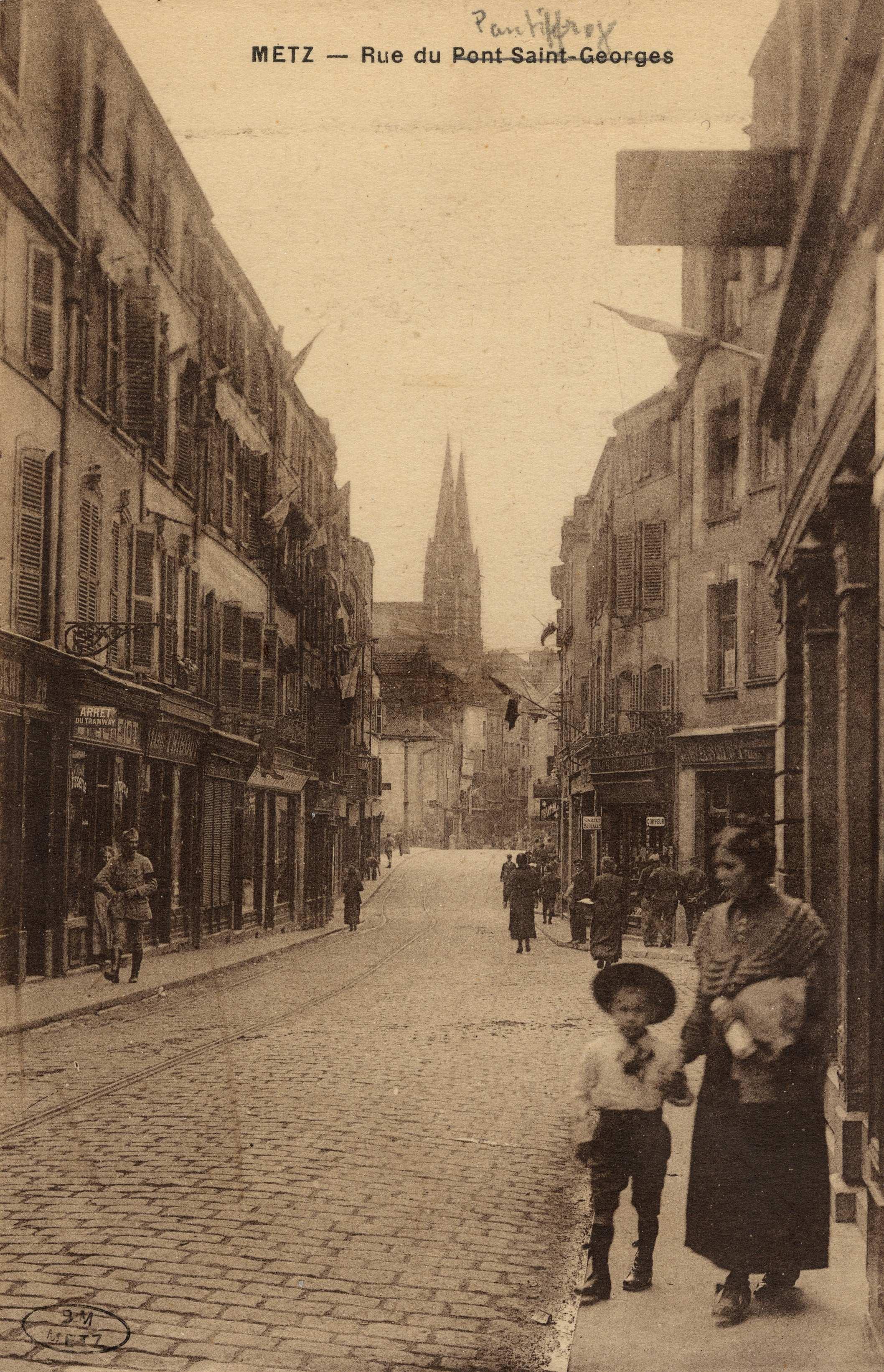 Contenu du Metz. Rue du Pont St georges [Pontiffroy]