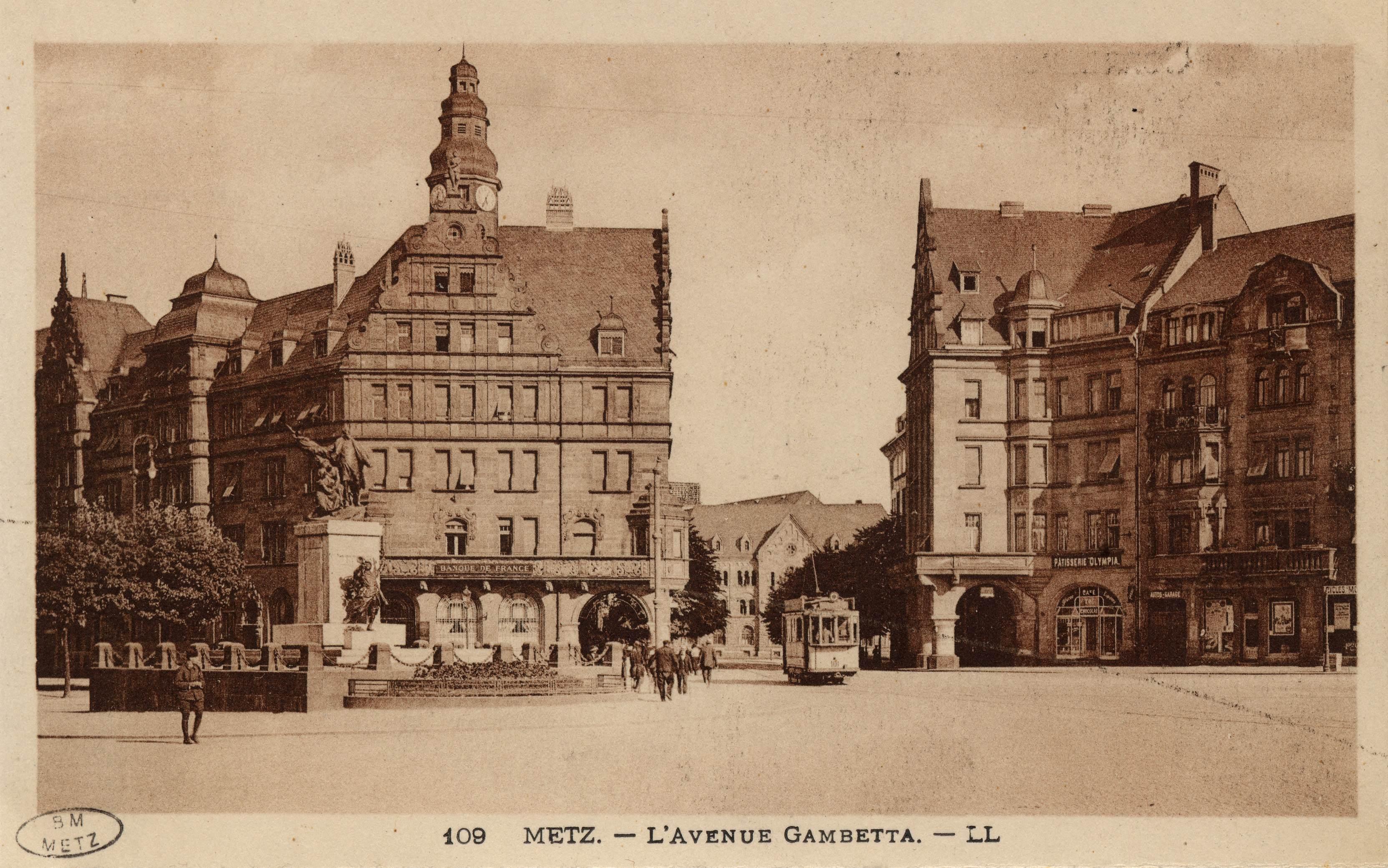 Contenu du Metz. L'Avenue Gambetta