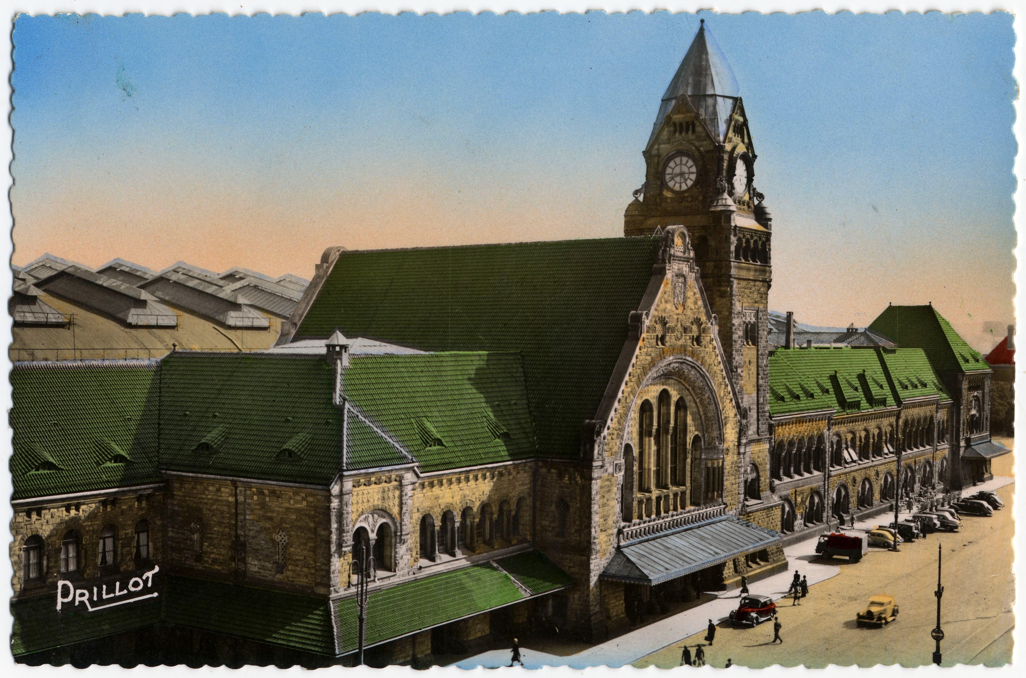 Contenu du Metz - La Gare centrale