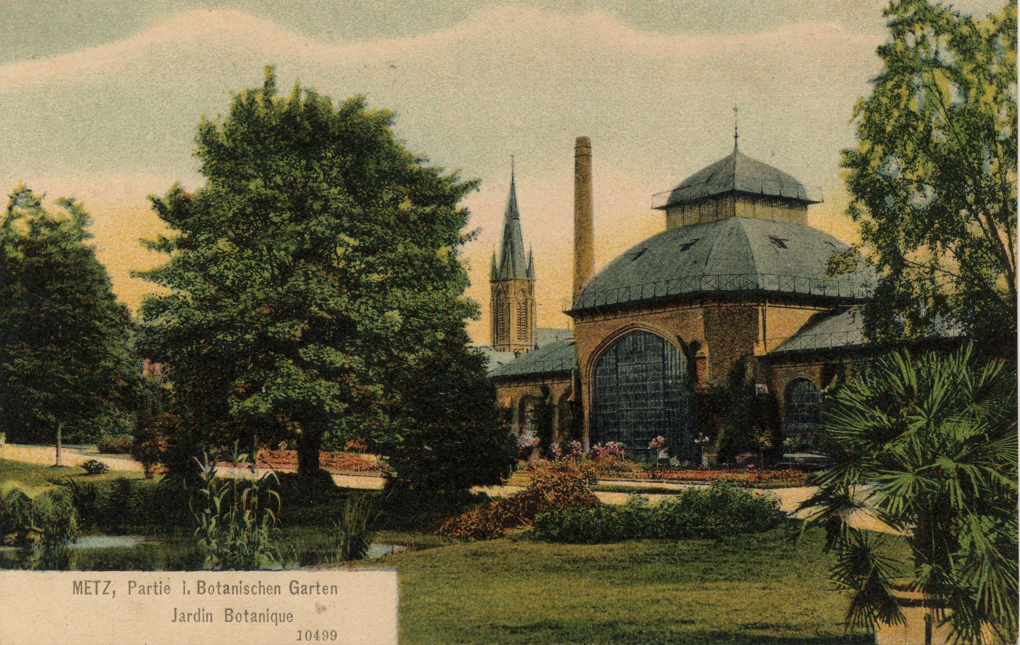 Contenu du Metz, Partie 1 Botanischen Garten - Jardin botanique