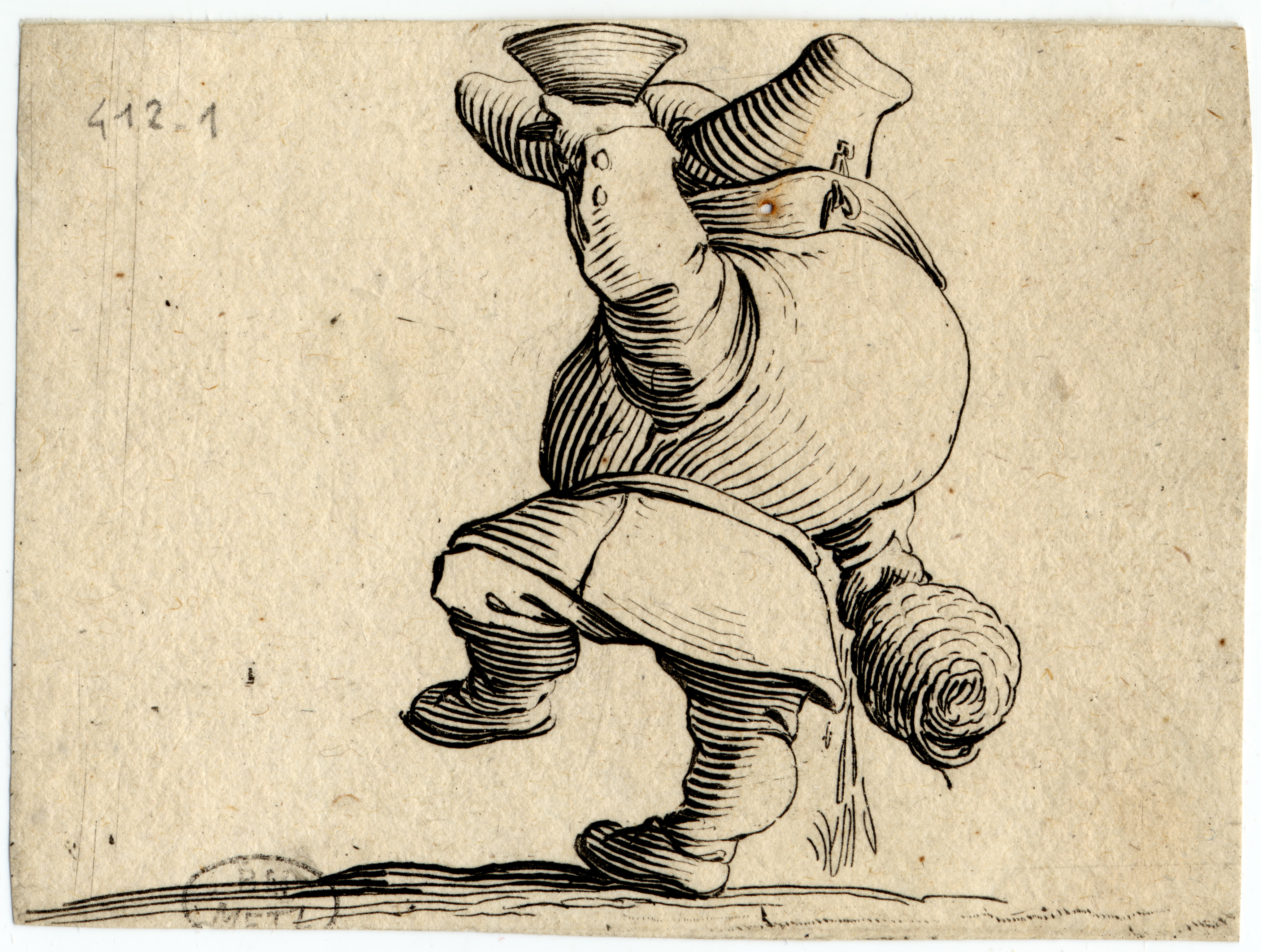 Contenu du Les Gobbi: Le buveur vu de dos