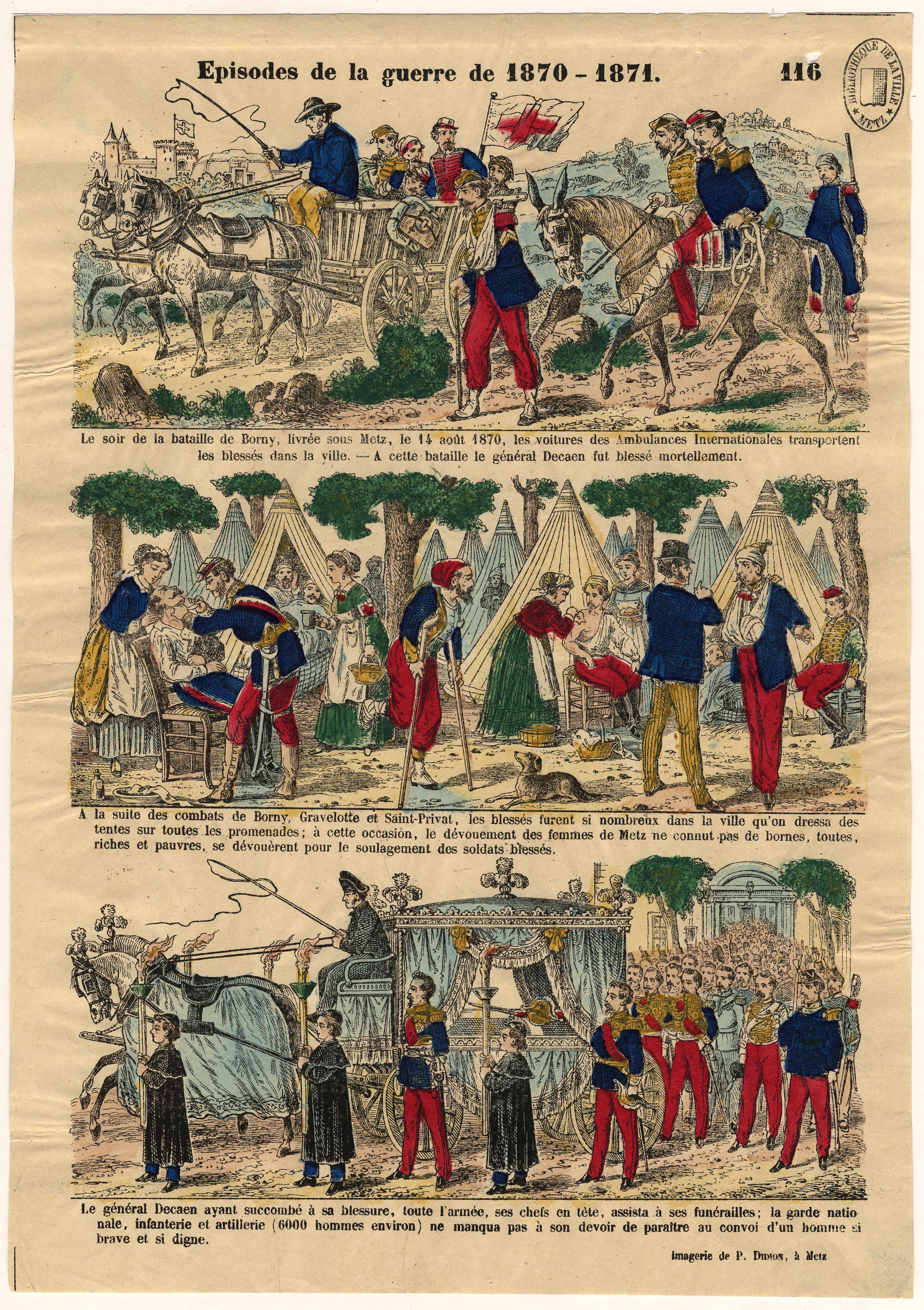 Contenu du Episodes de la guerre de 1870-1871