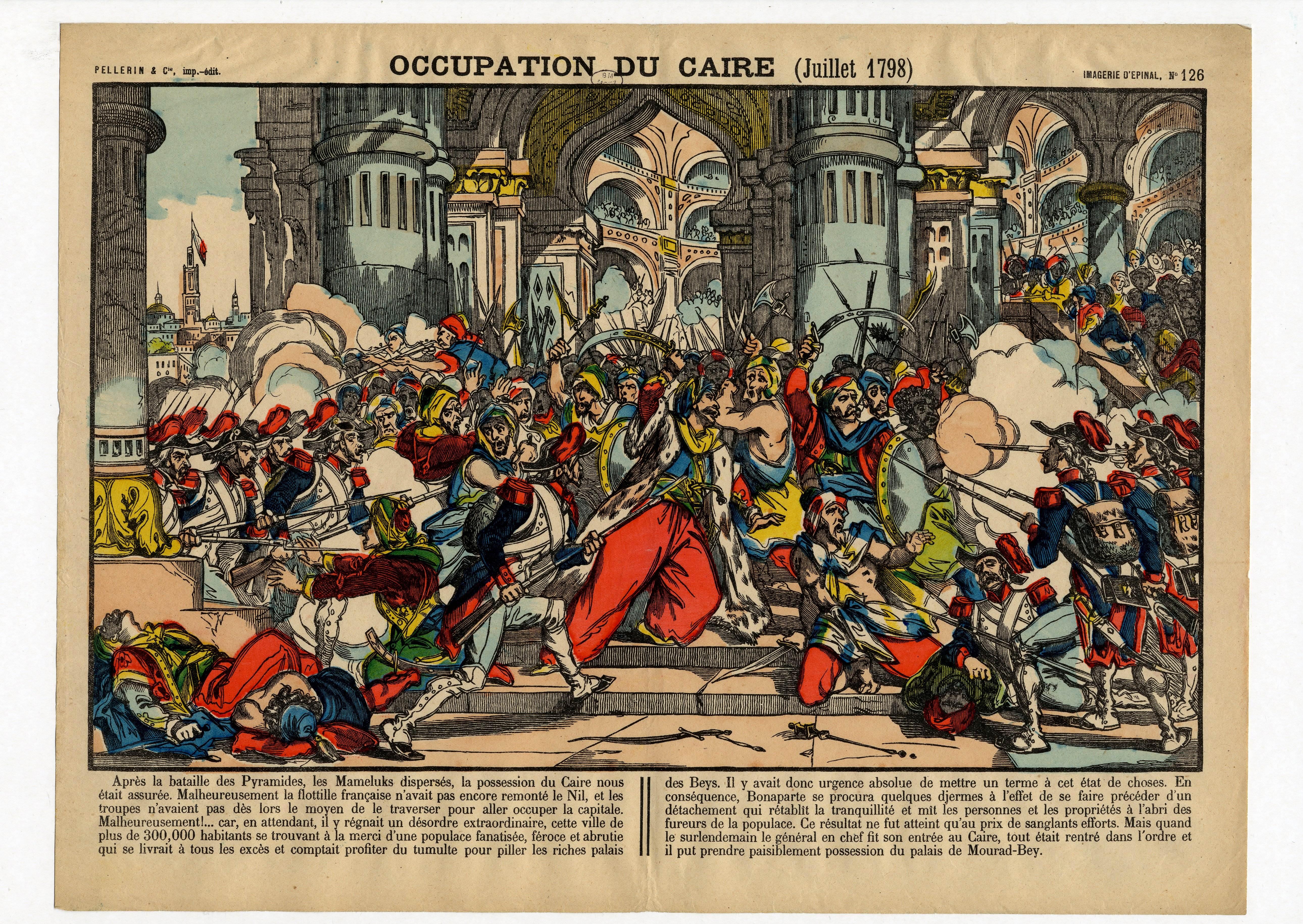 Contenu du Occupation du Caire (juillet 1798)