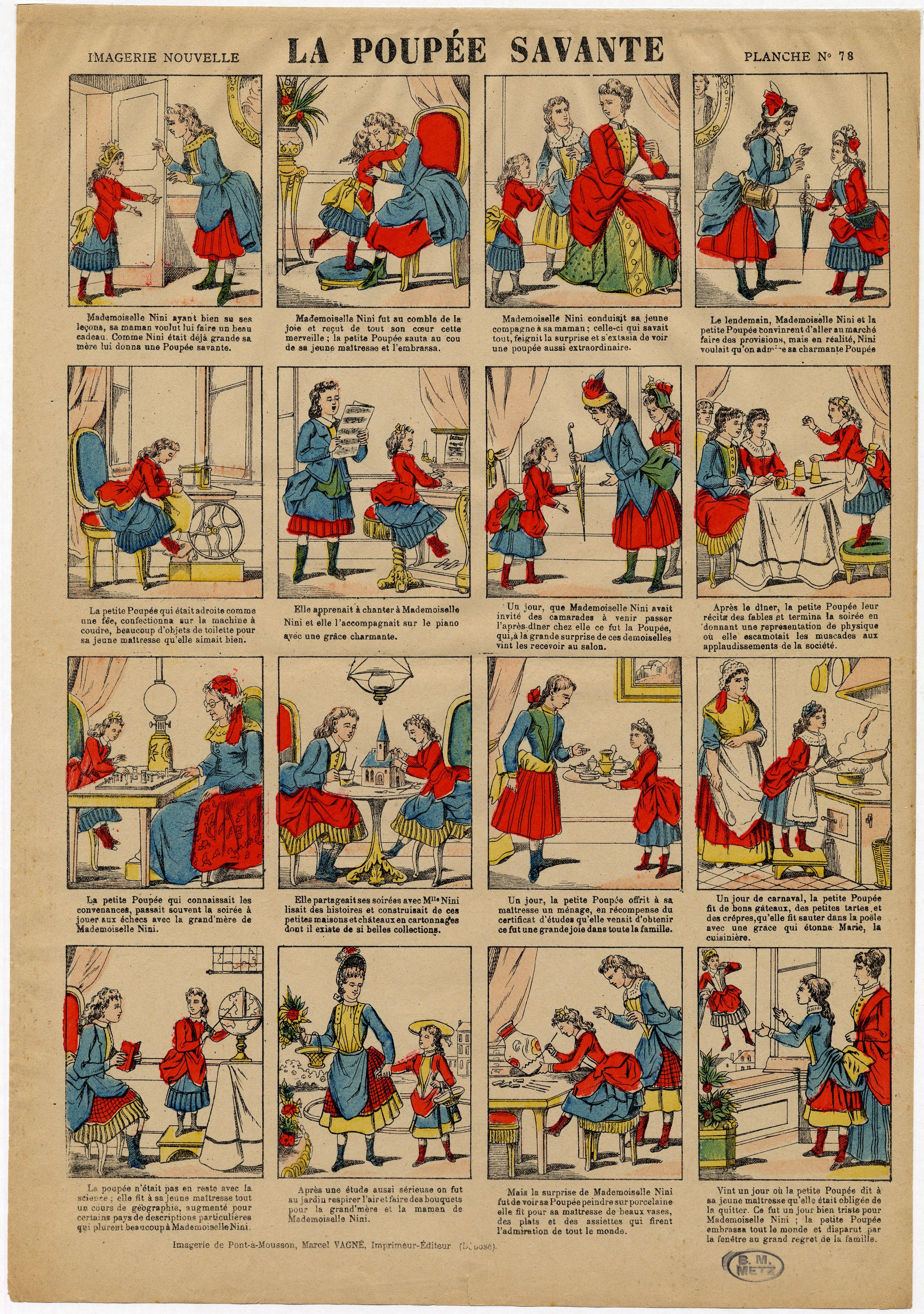 Contenu du La poupée savante