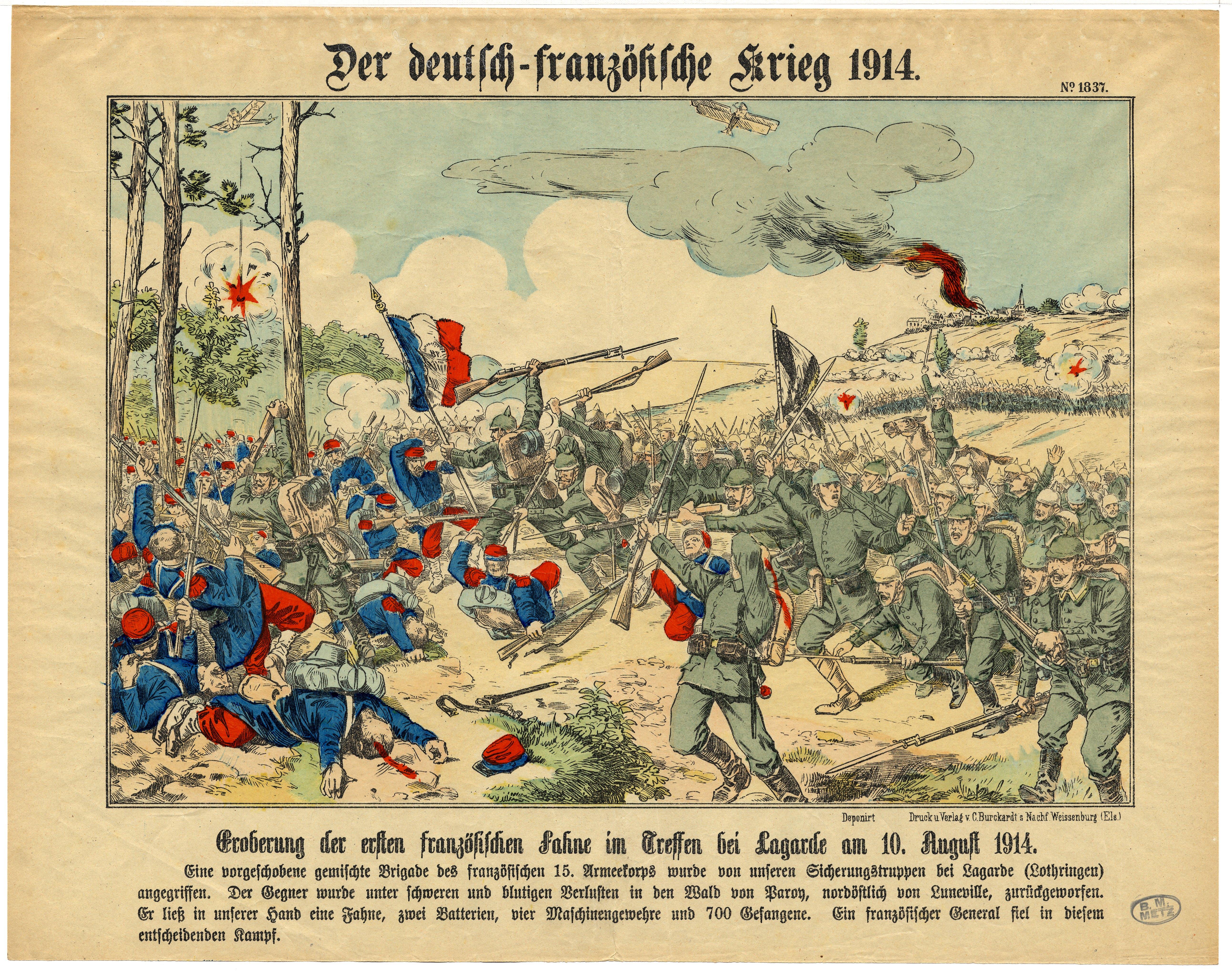 Contenu du Der deutsch-französische Krieg 1914