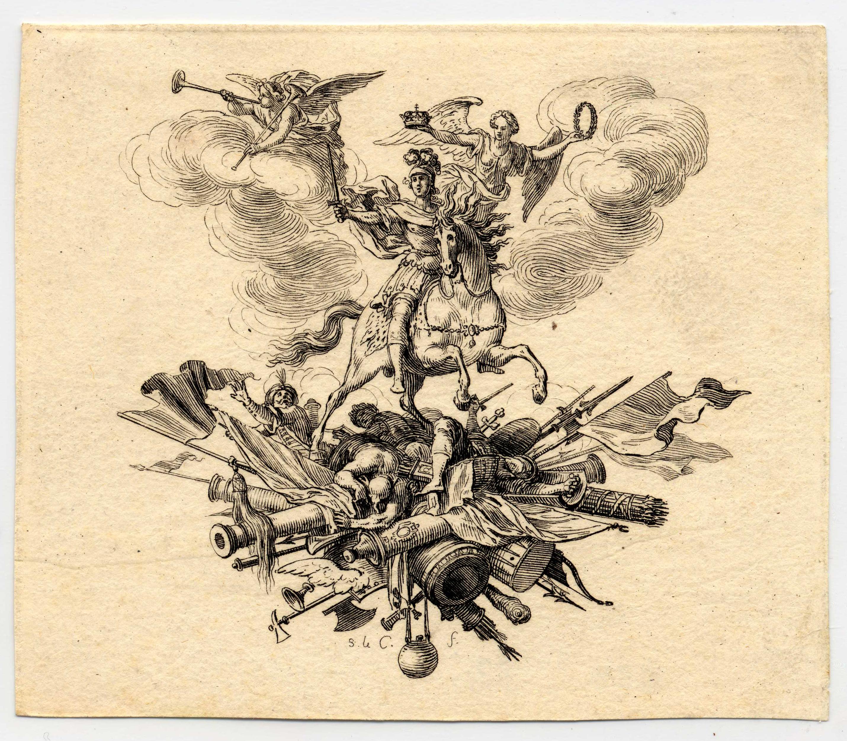 Contenu du Histoire de Charles V de Lorraine: Cul-de-lampe