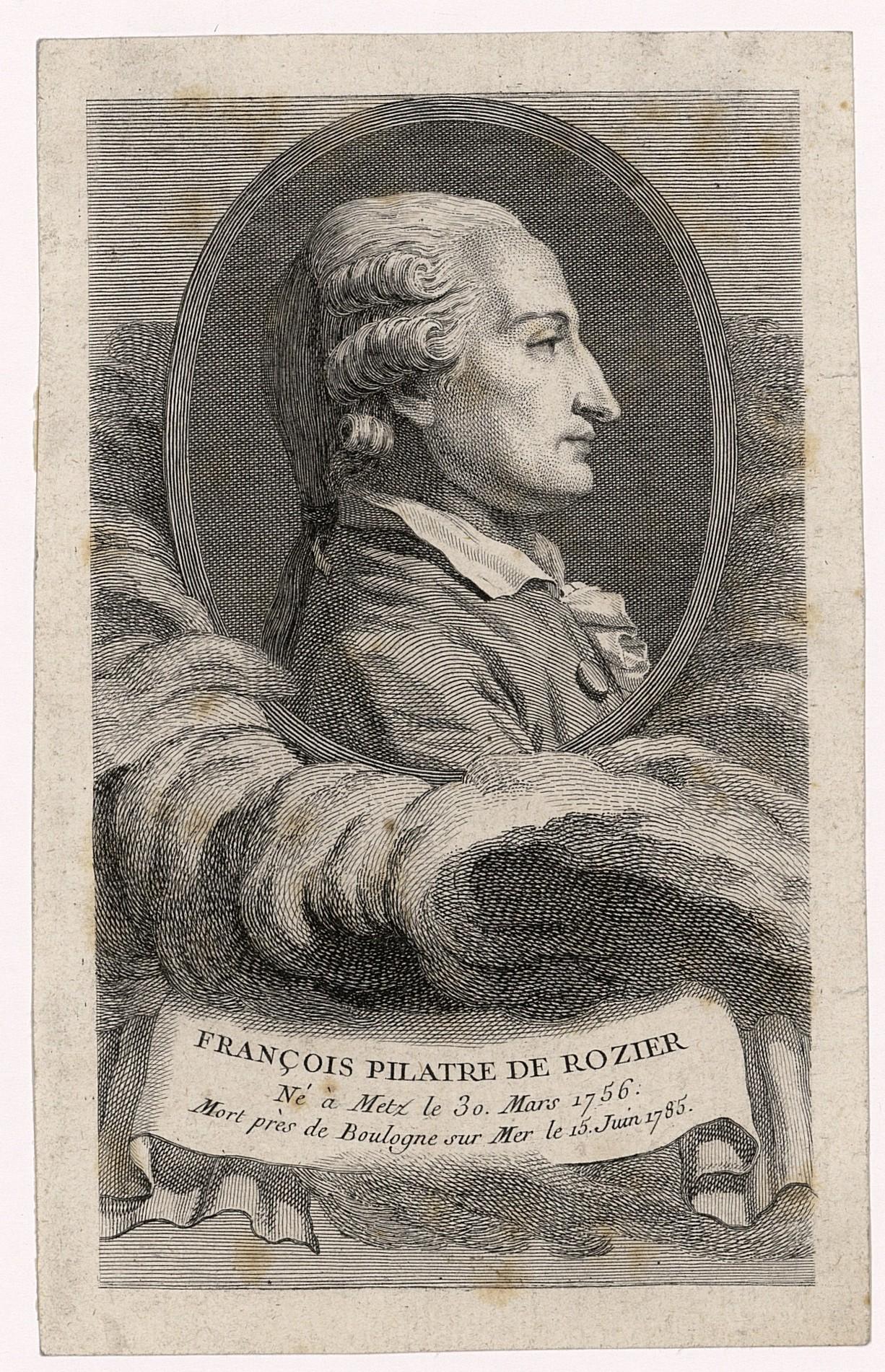 Contenu du François Pilatre de Rozier