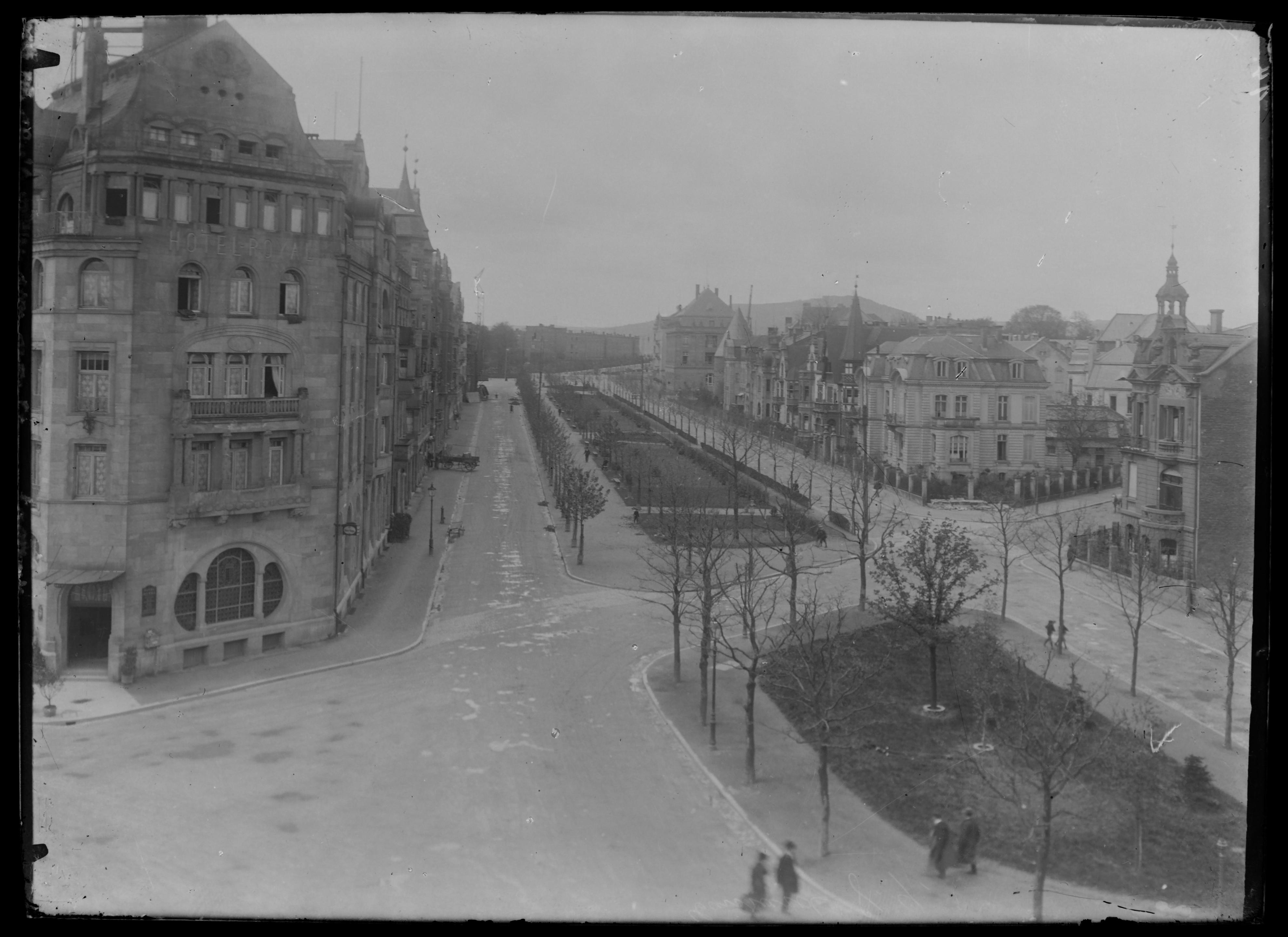 Contenu du Le Kaiser Wilhelm Ring (avenue Foch)