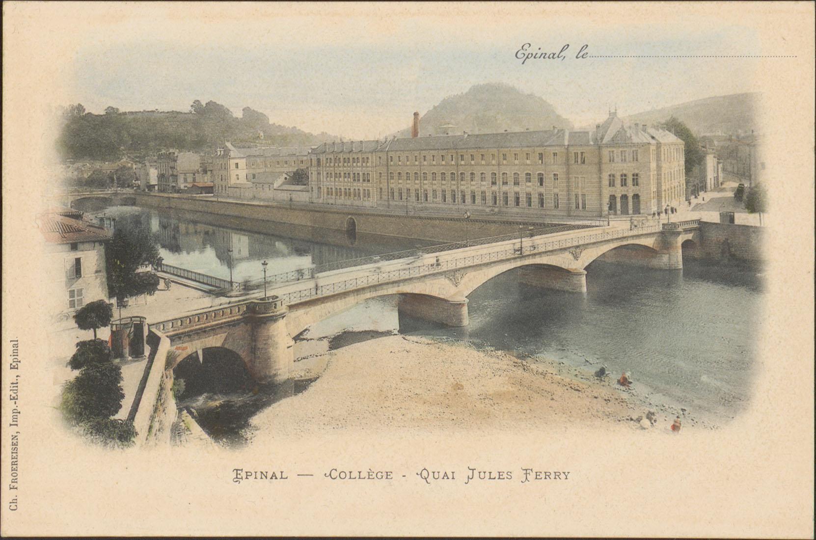 Contenu du Épinal, Collège, Quai Jules Ferry