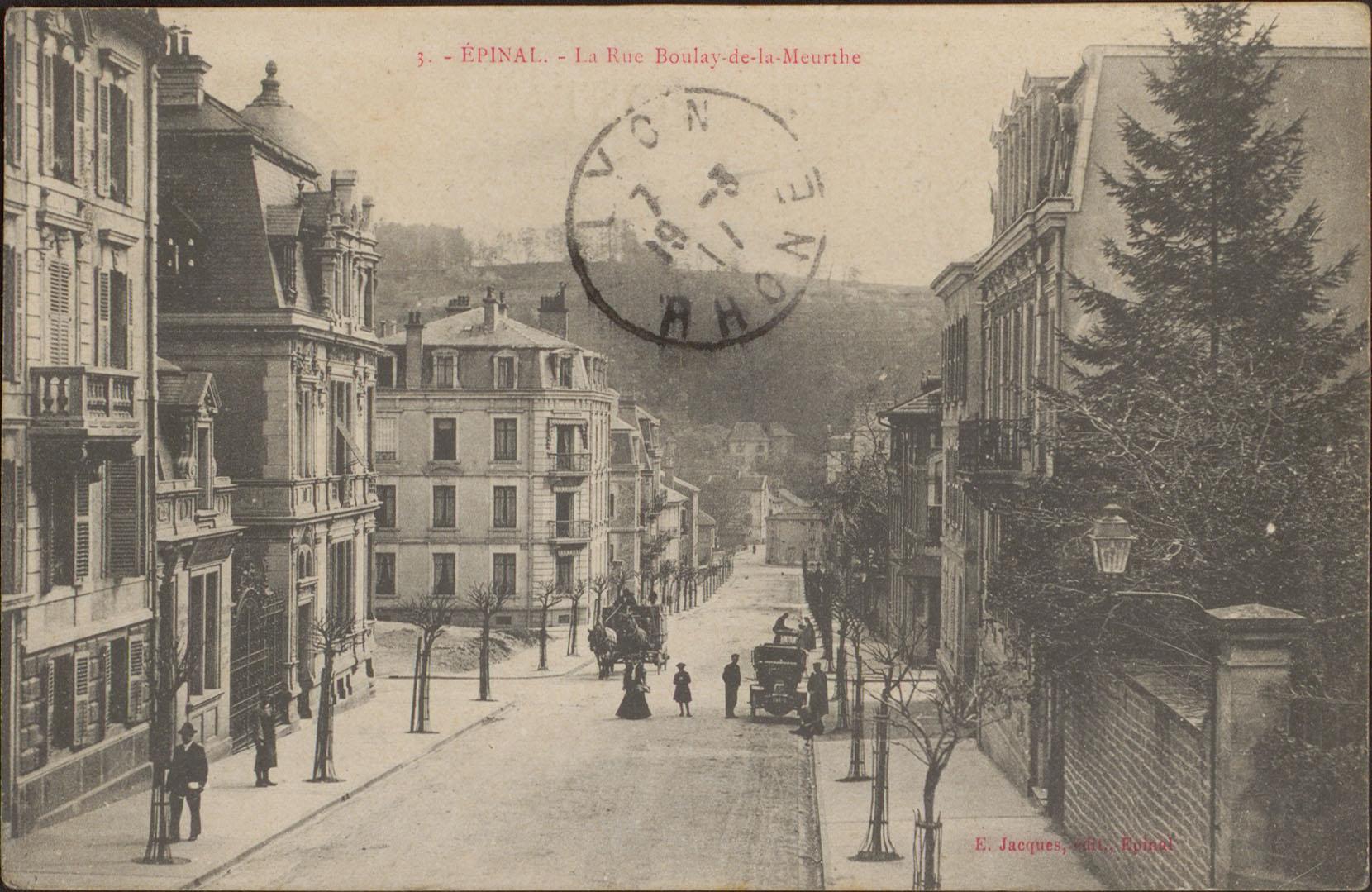 Contenu du Épinal, La Rue Boulay-de-la-Meurthe