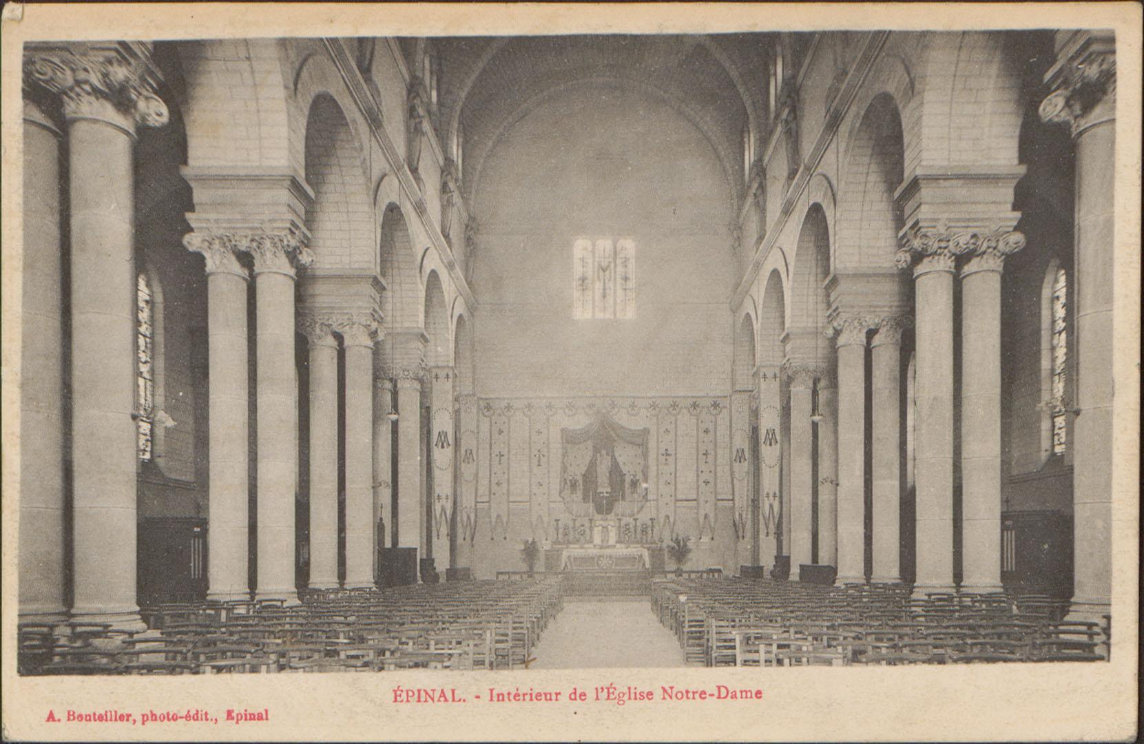 Contenu du Épinal, Intérieur de l'Église Notre-Dame