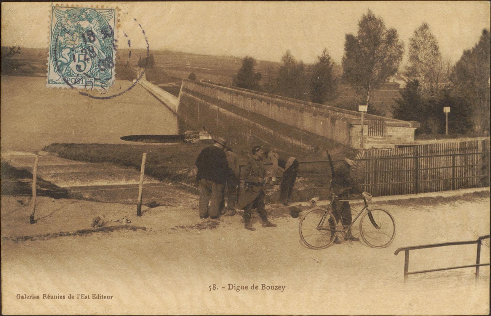 Contenu du Digue de Bouzey