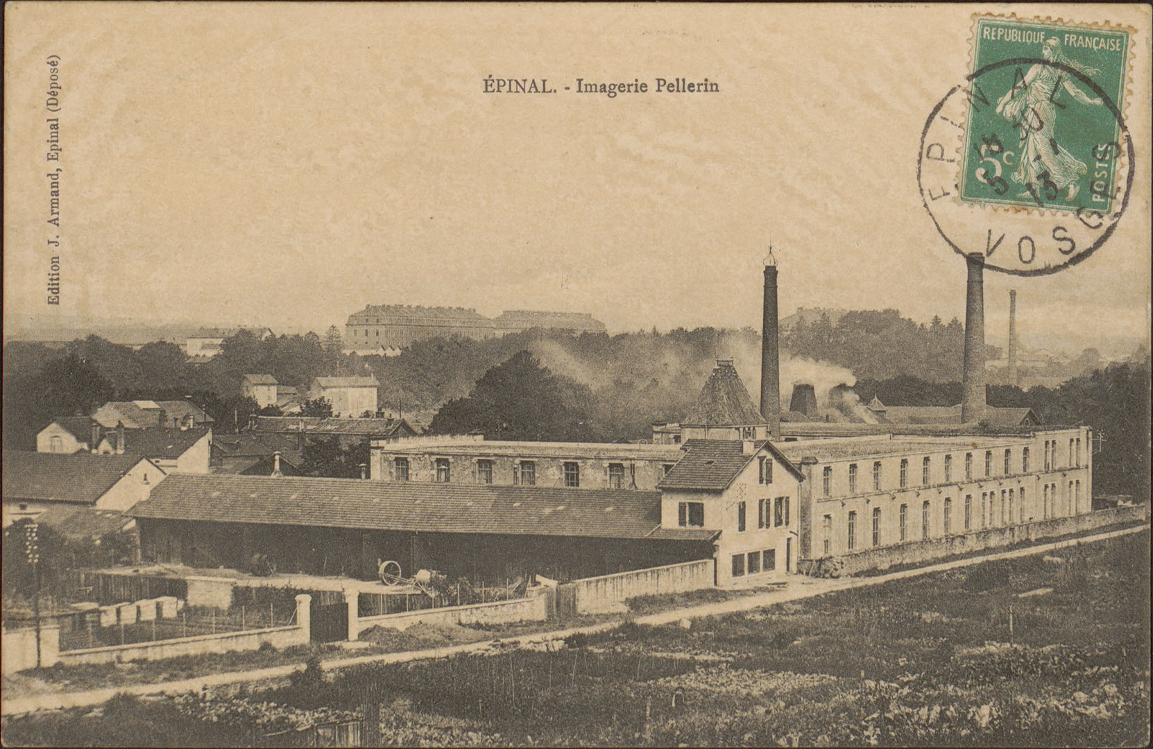 Contenu du Épinal, Imagerie Pellerin