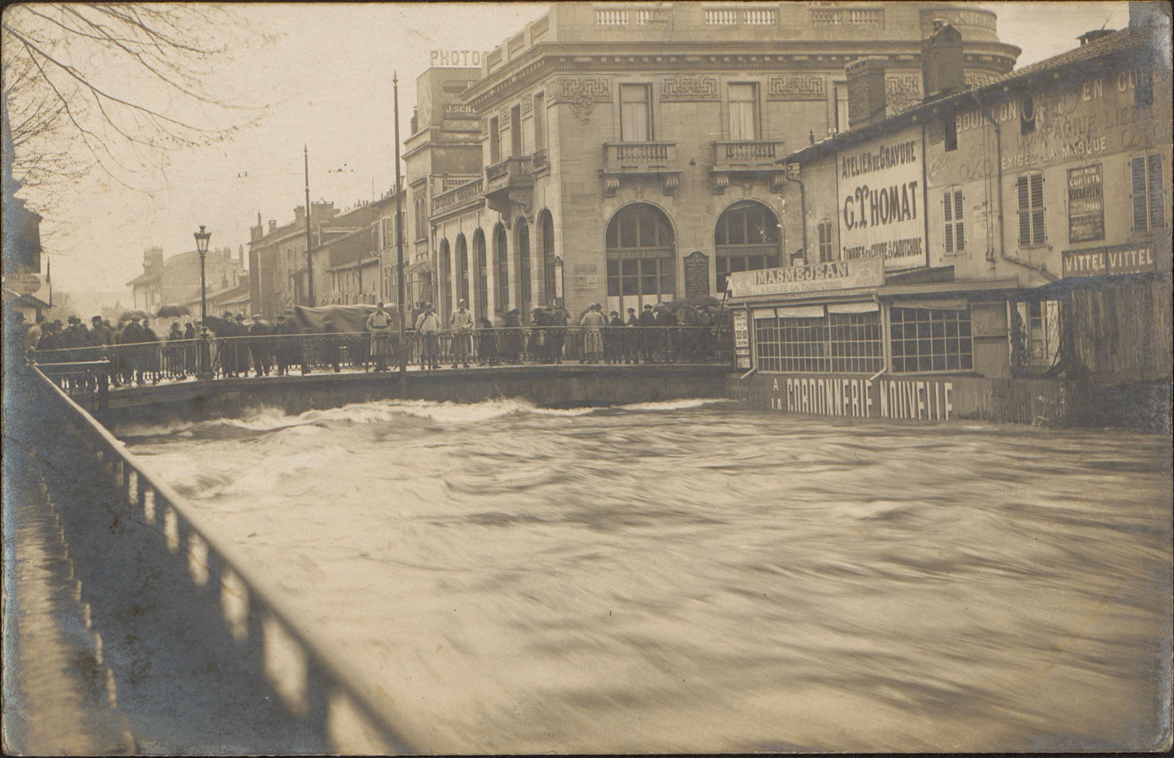 Contenu du [Crue 1919, Épinal, Canal des Grands Moulins]