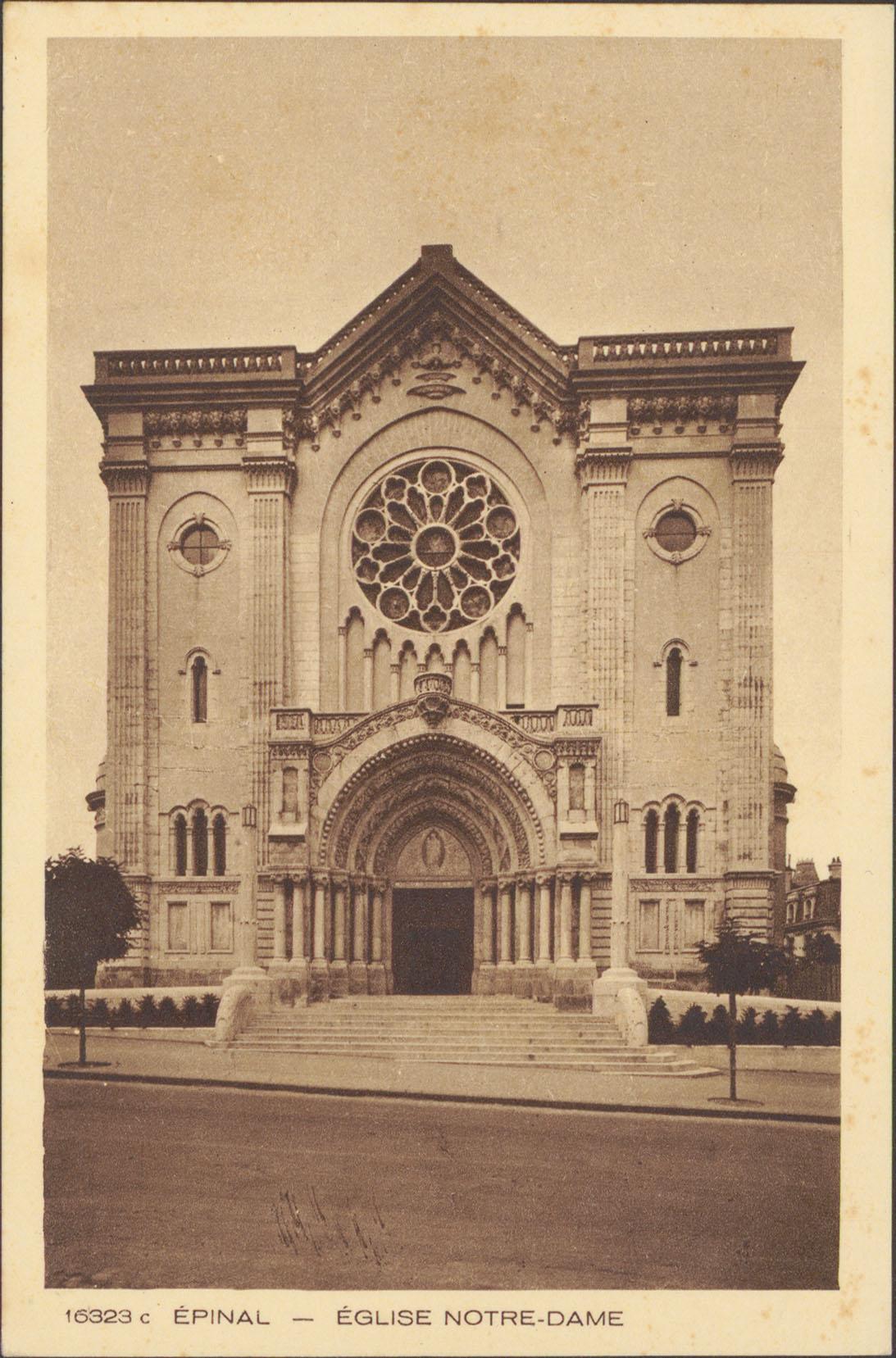Contenu du Épinal, Église Notre-Dame