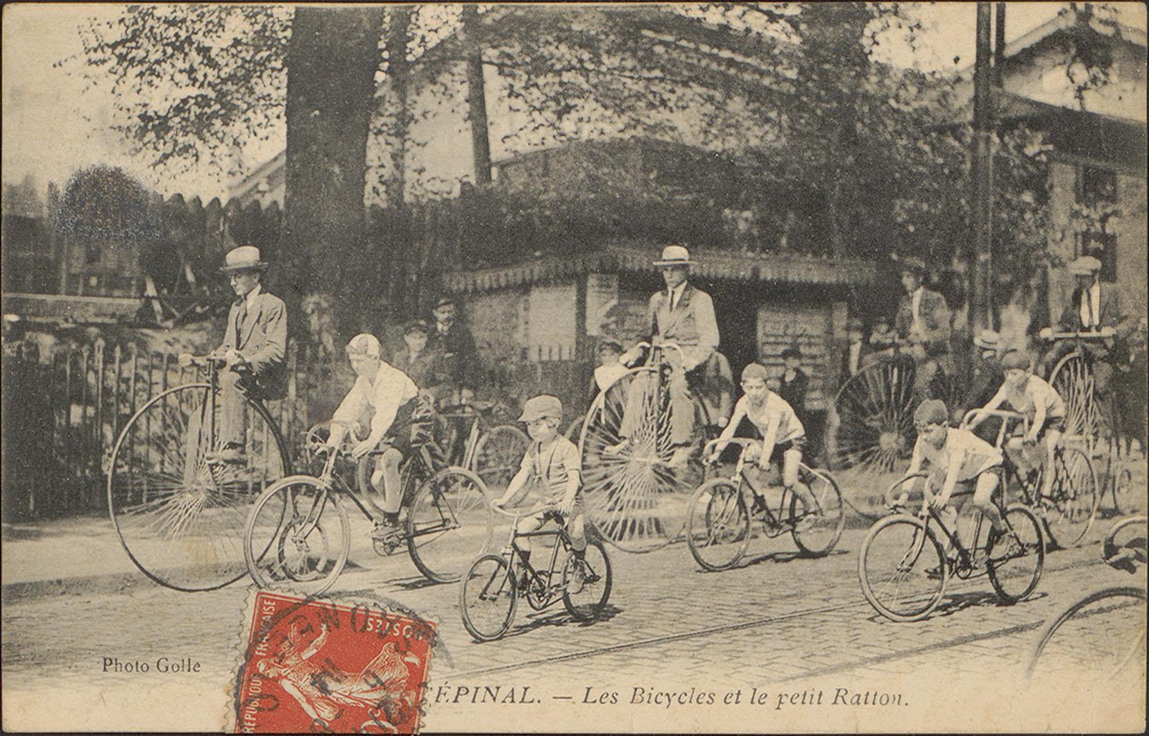 Contenu du Épinal, Les Bicycles et le petit Ratton