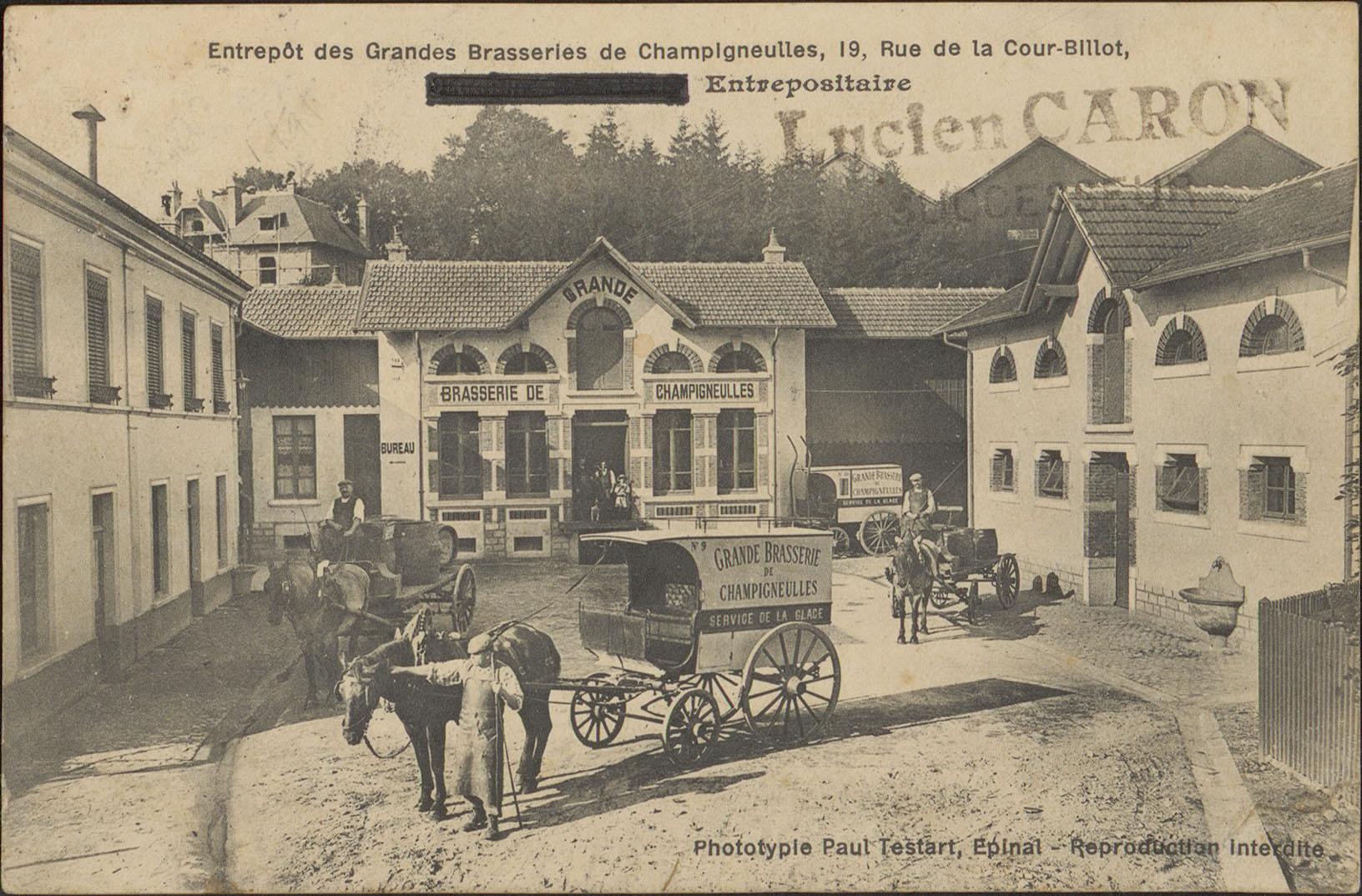 Contenu du Entrepôt des Grandes Brasseries de Champigneulles […]