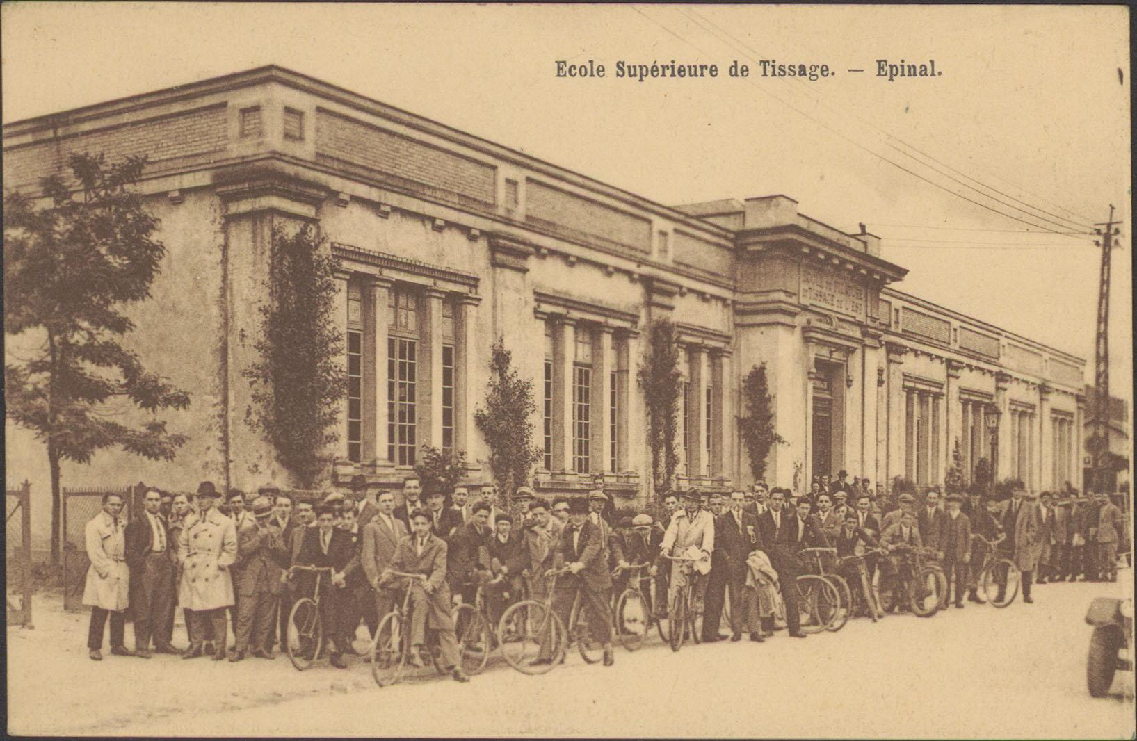 Contenu du École Supérieure de Tissage, Épinal