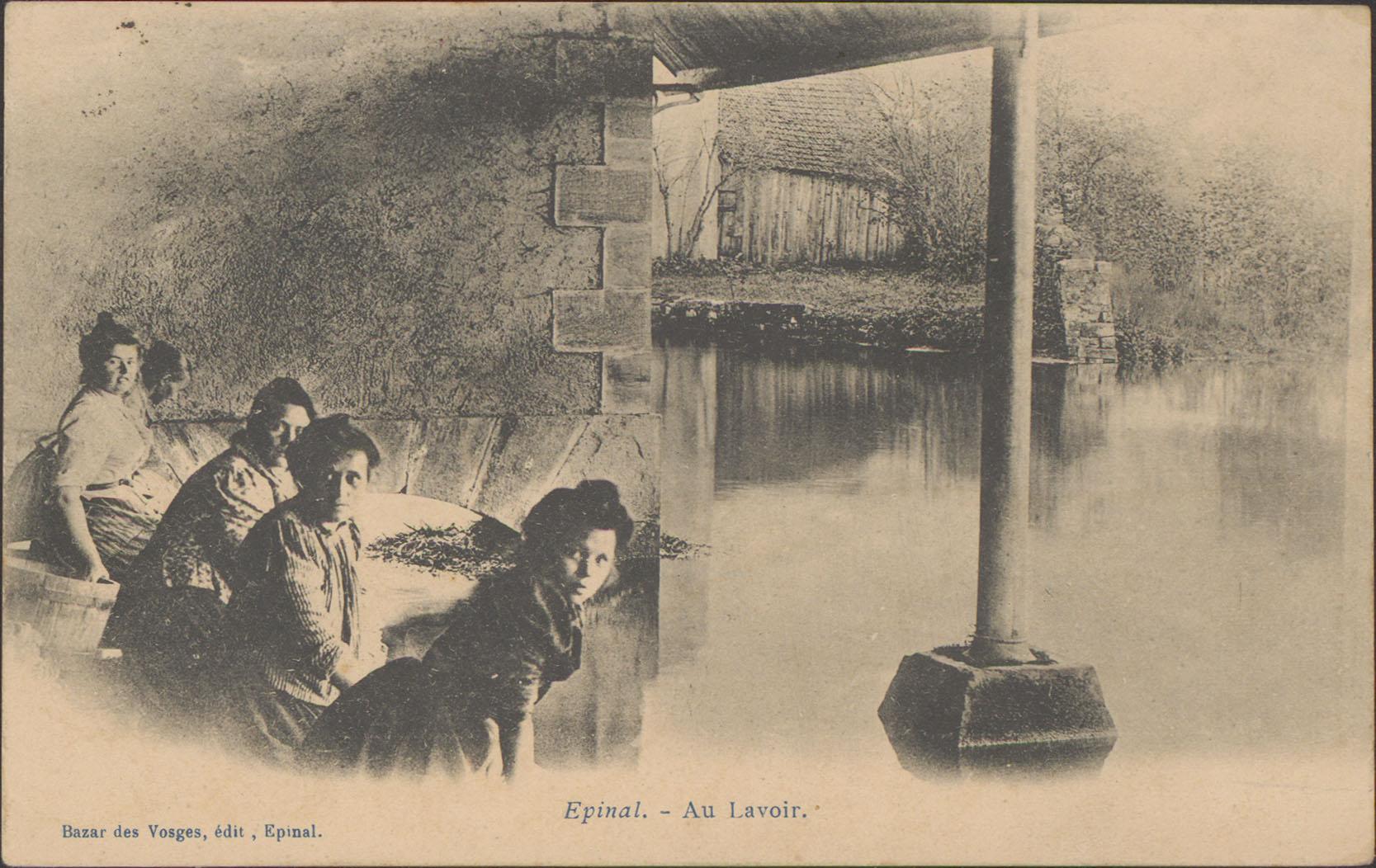 Contenu du Épinal, Au Lavoir
