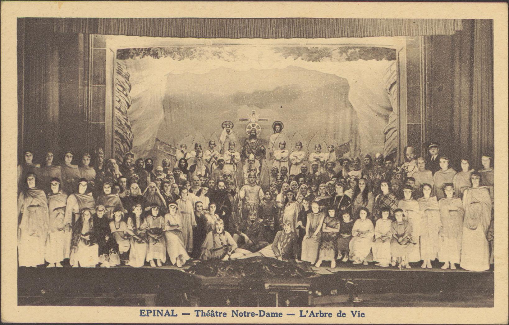 Contenu du Épinal, Théâtre Notre-Dame, L'Arbre de Vie