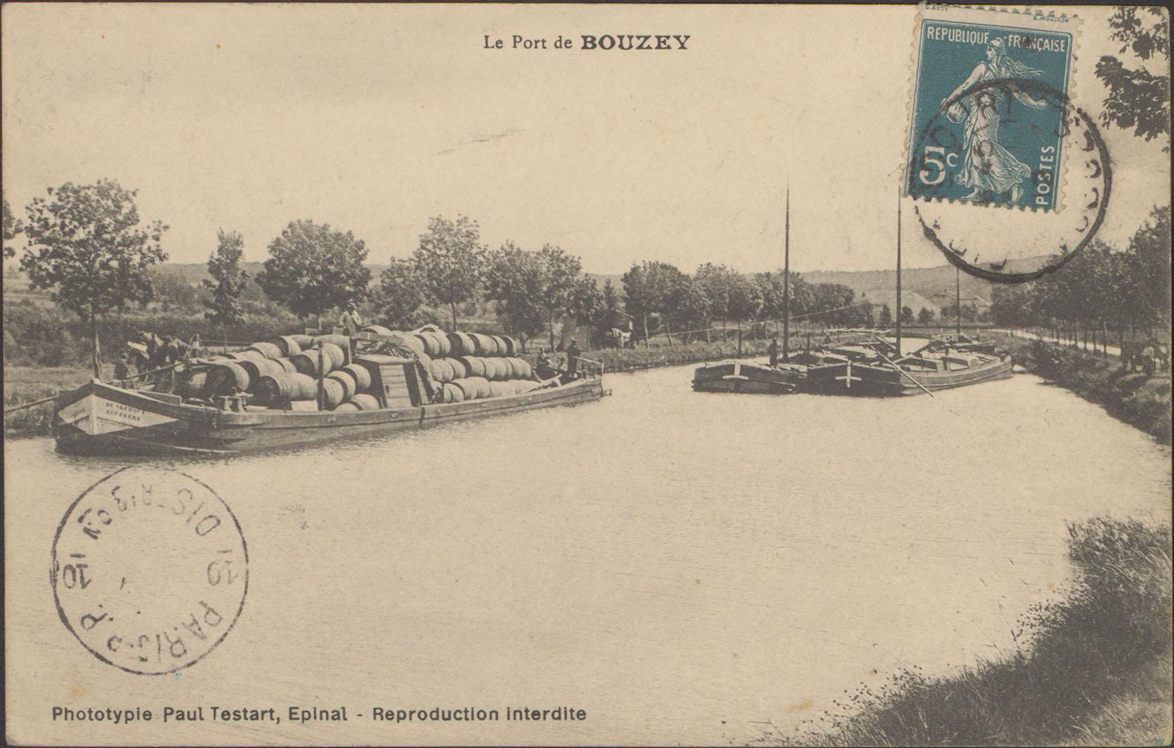 Contenu du Le Port de Bouzey