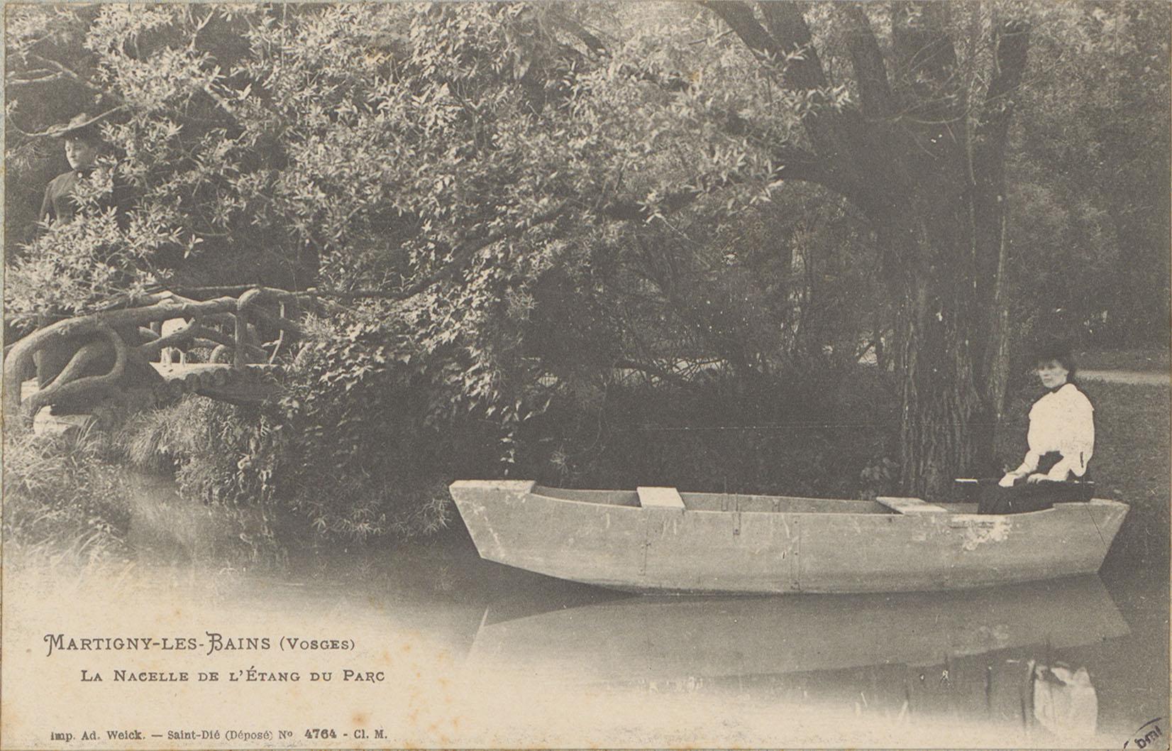 Contenu du Martigny-les-Bains (Vosges), La Nacelle de l'étang du parc
