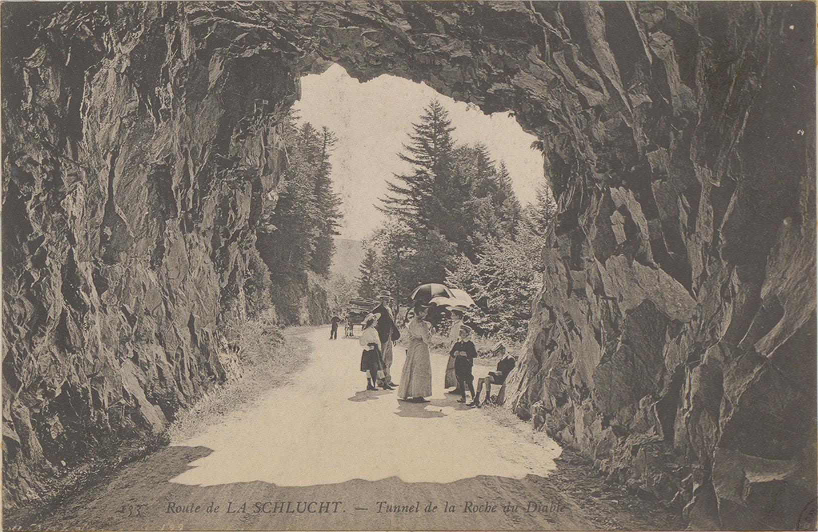 Contenu du Route de la Schlucht, Tunnel de la roche du Diable
