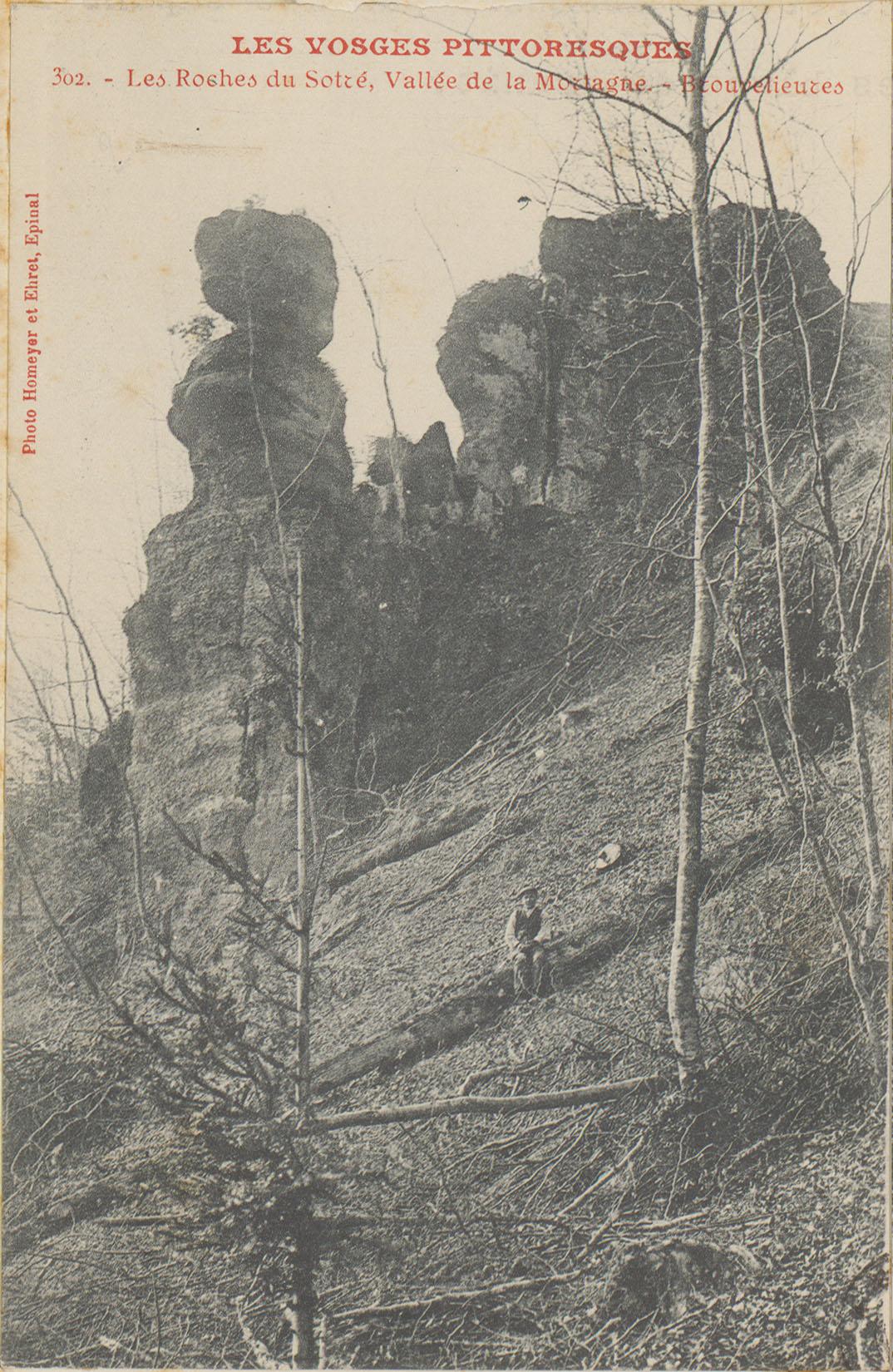 Contenu du Les Roches du Sotré, Vallée de la Mortagne, Brouvelieures