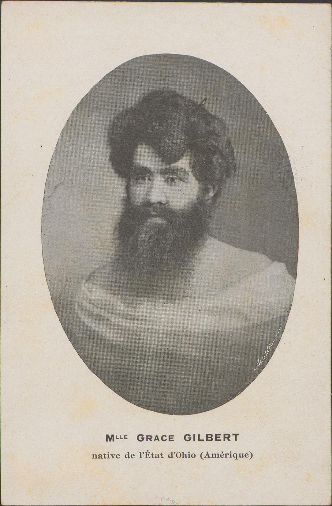 Contenu du Mlle Grace Gilbert native de l'Etat d'Ohio (Amérique)