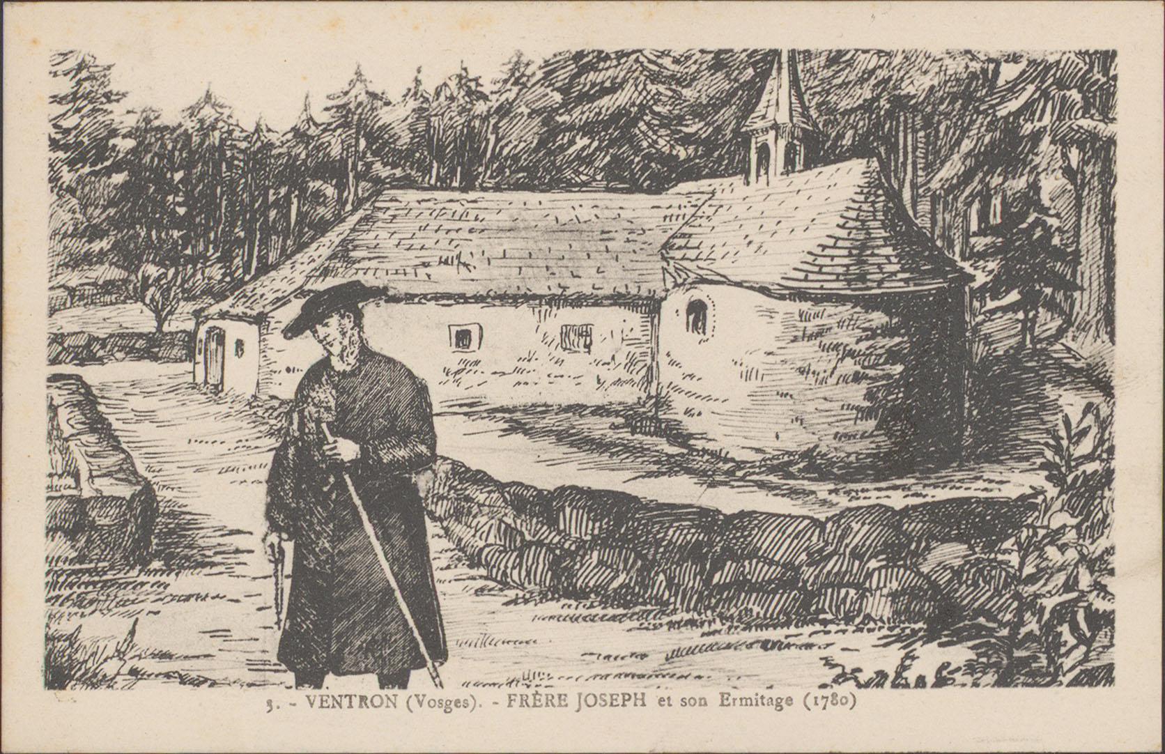 Contenu du Ventron (Vosges), Frère Joseph et son Ermitage (1780)