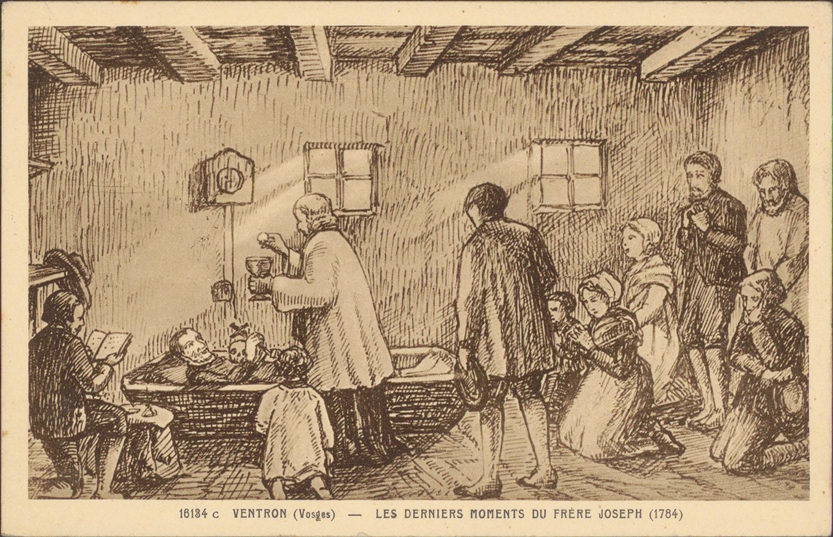 Contenu du Ventron (Vosges), Les Derniers moments du Frère Joseph (1784)