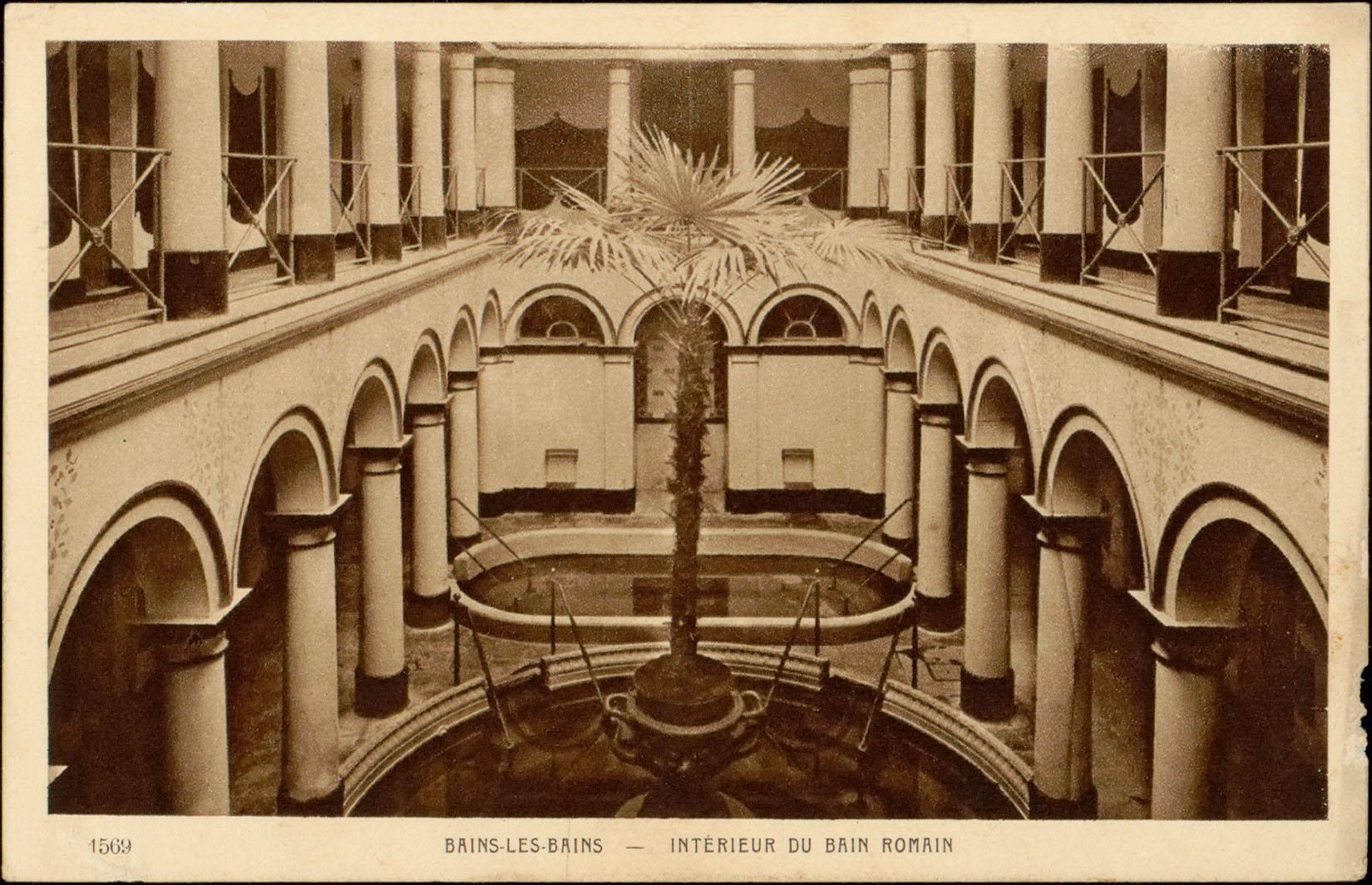 Contenu du Bains-les-Bains, Intérieur du bain romain