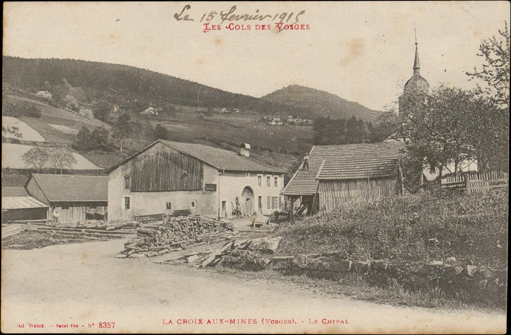 Contenu du La Croix-aux-Mines (Vosges), Le Chipal