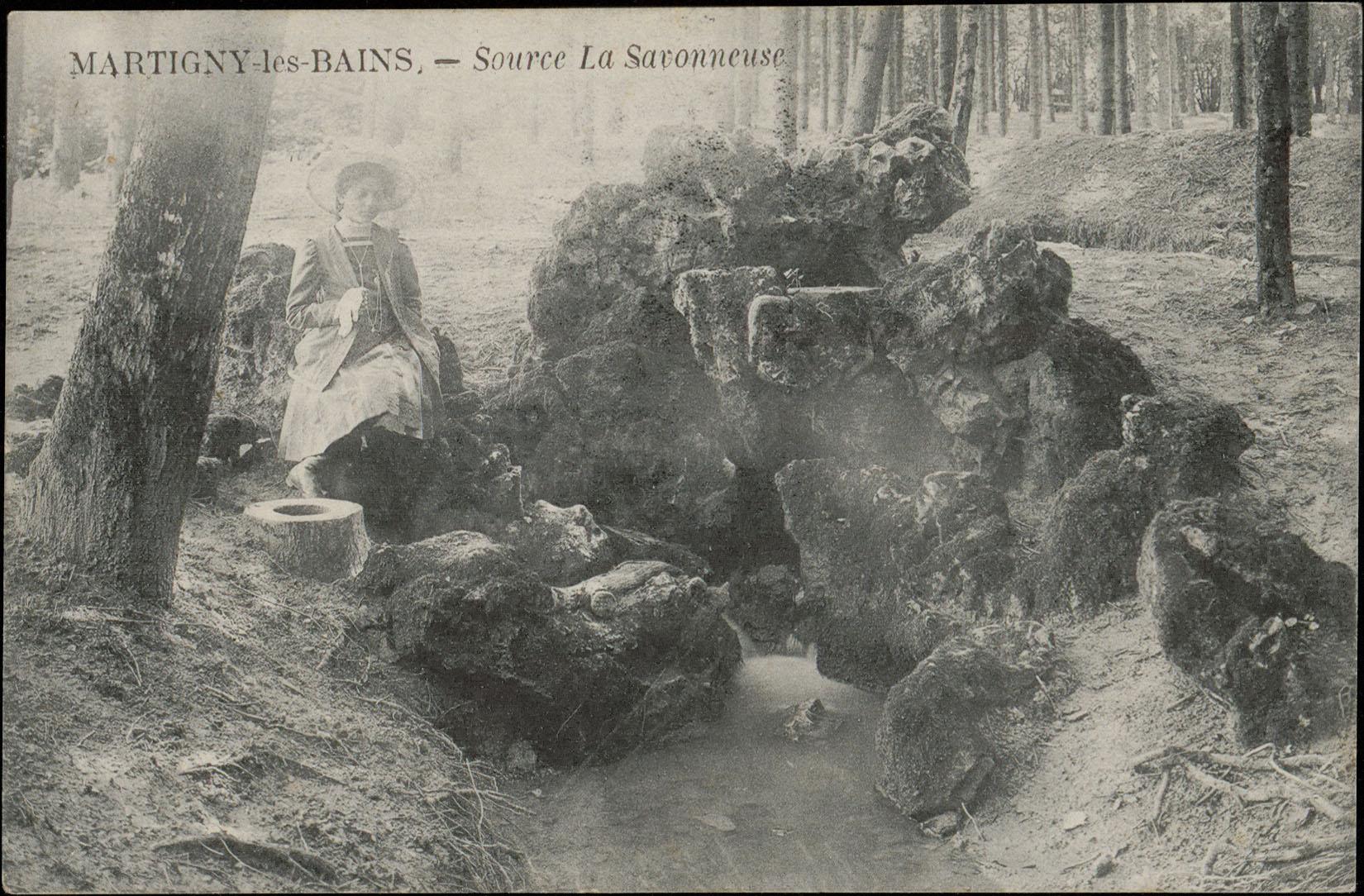 Contenu du Martigny-les-Bains, Source La Savonneuse