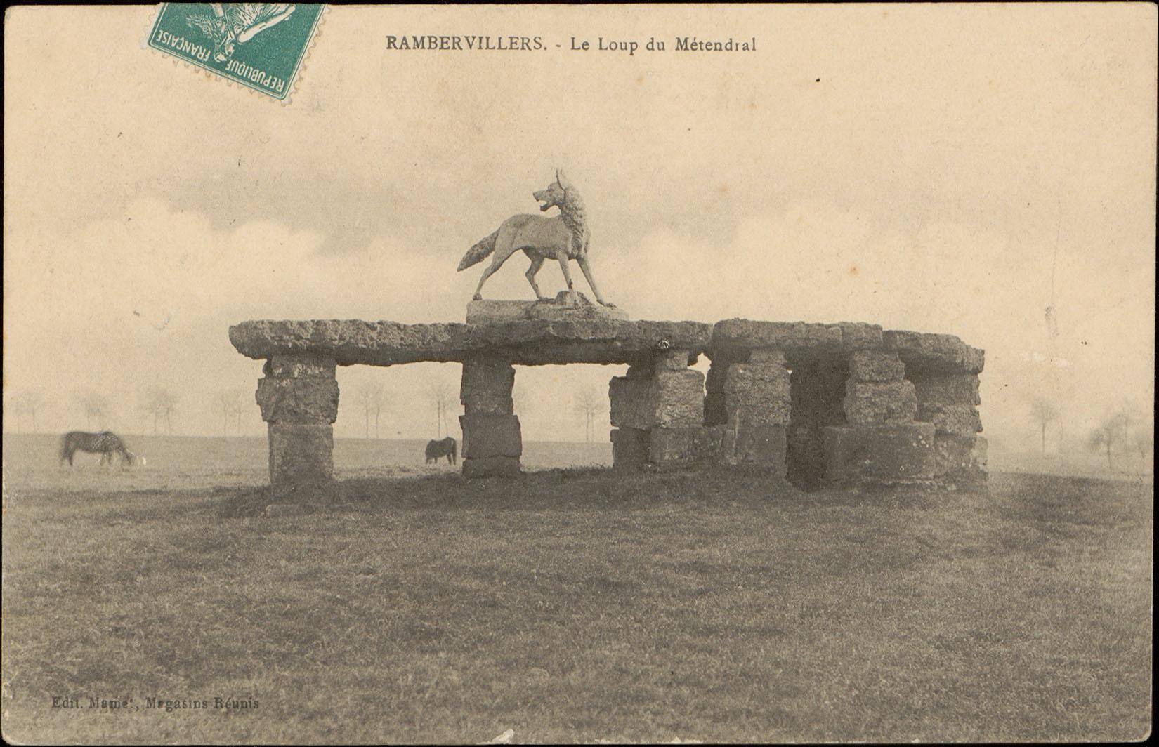 Contenu du Rambervillers, Le Loup de Métendral