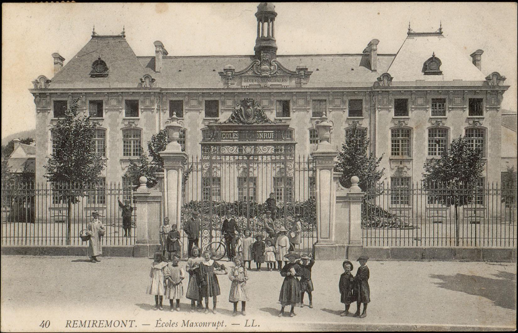 Contenu du Remiremont, Écoles Maxonrupt