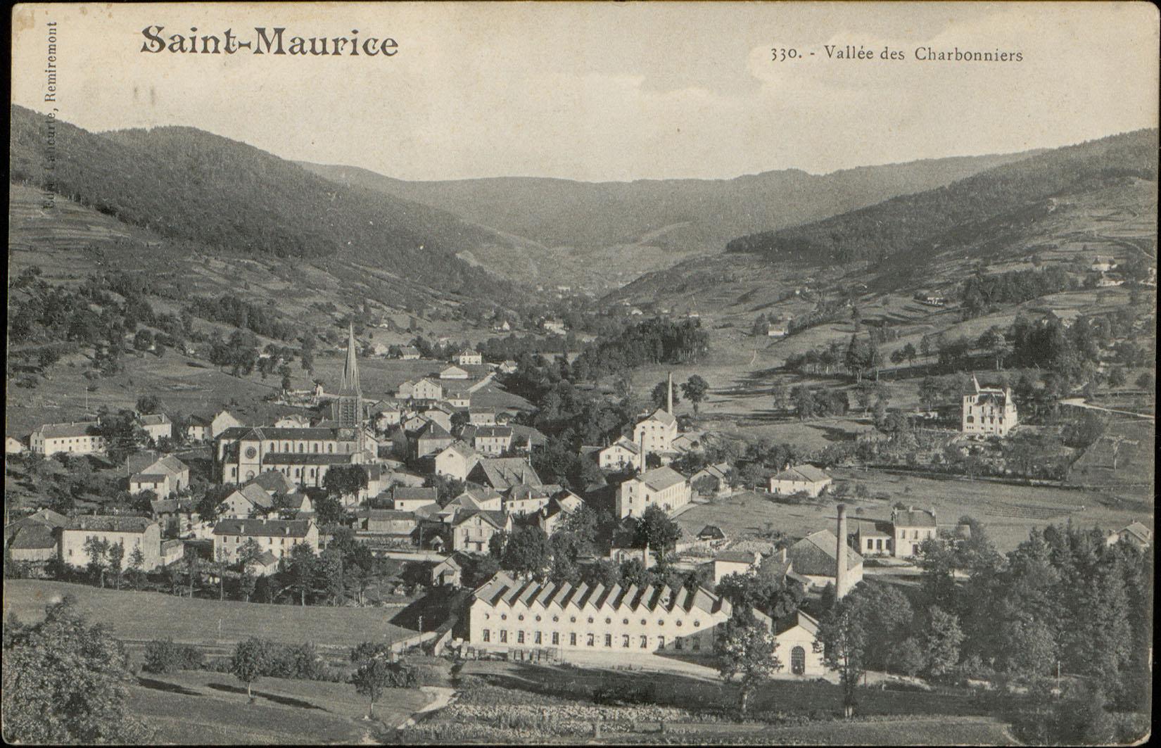 Contenu du Saint-Maurice, Vallée des Charbonniers