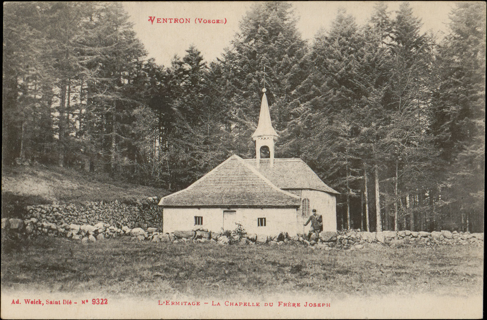 Contenu du Ventron (Vosges), L'Ermitage, La Chapelle du Frère Joseph